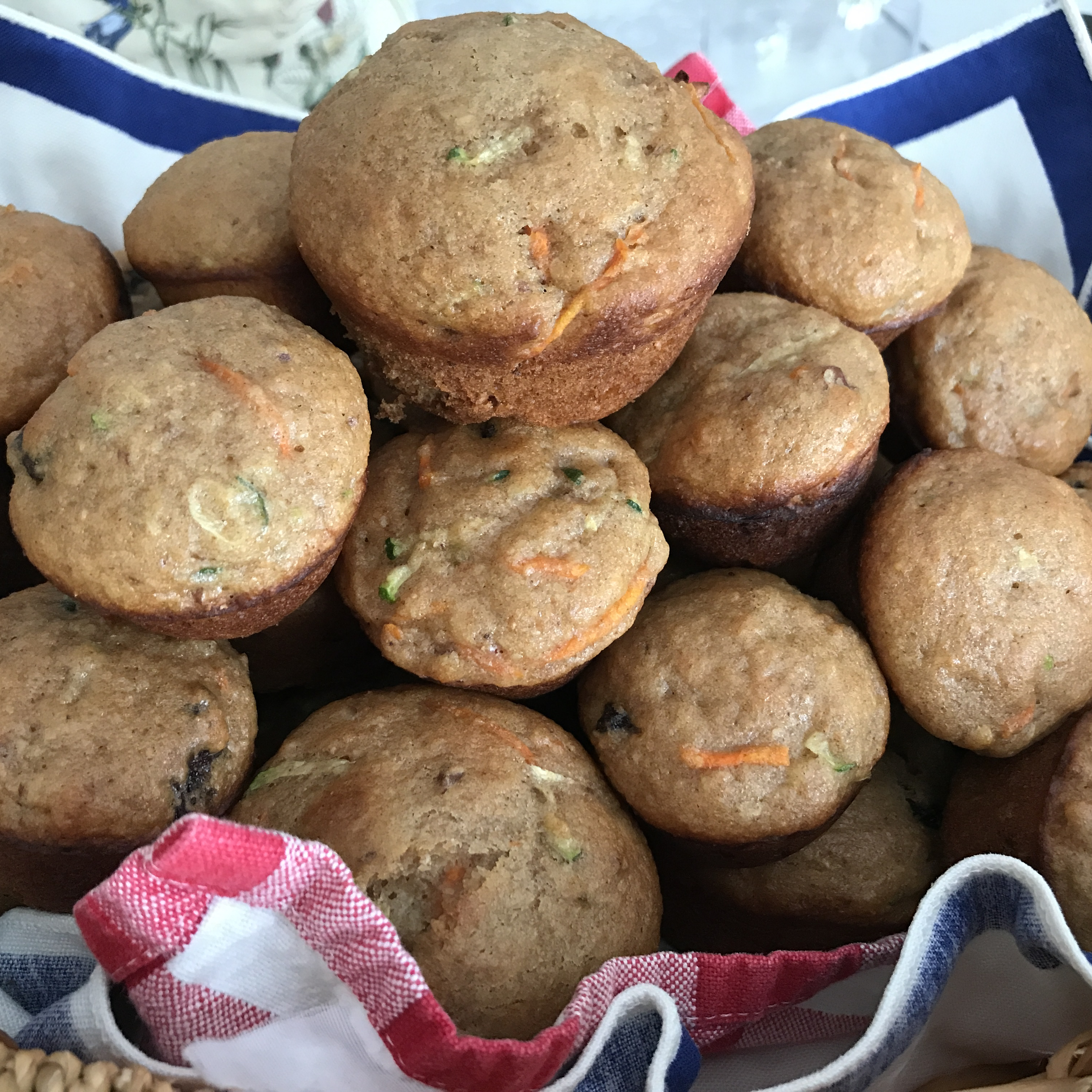 Zucchini Yogurt Multigrain Muffins Laurie