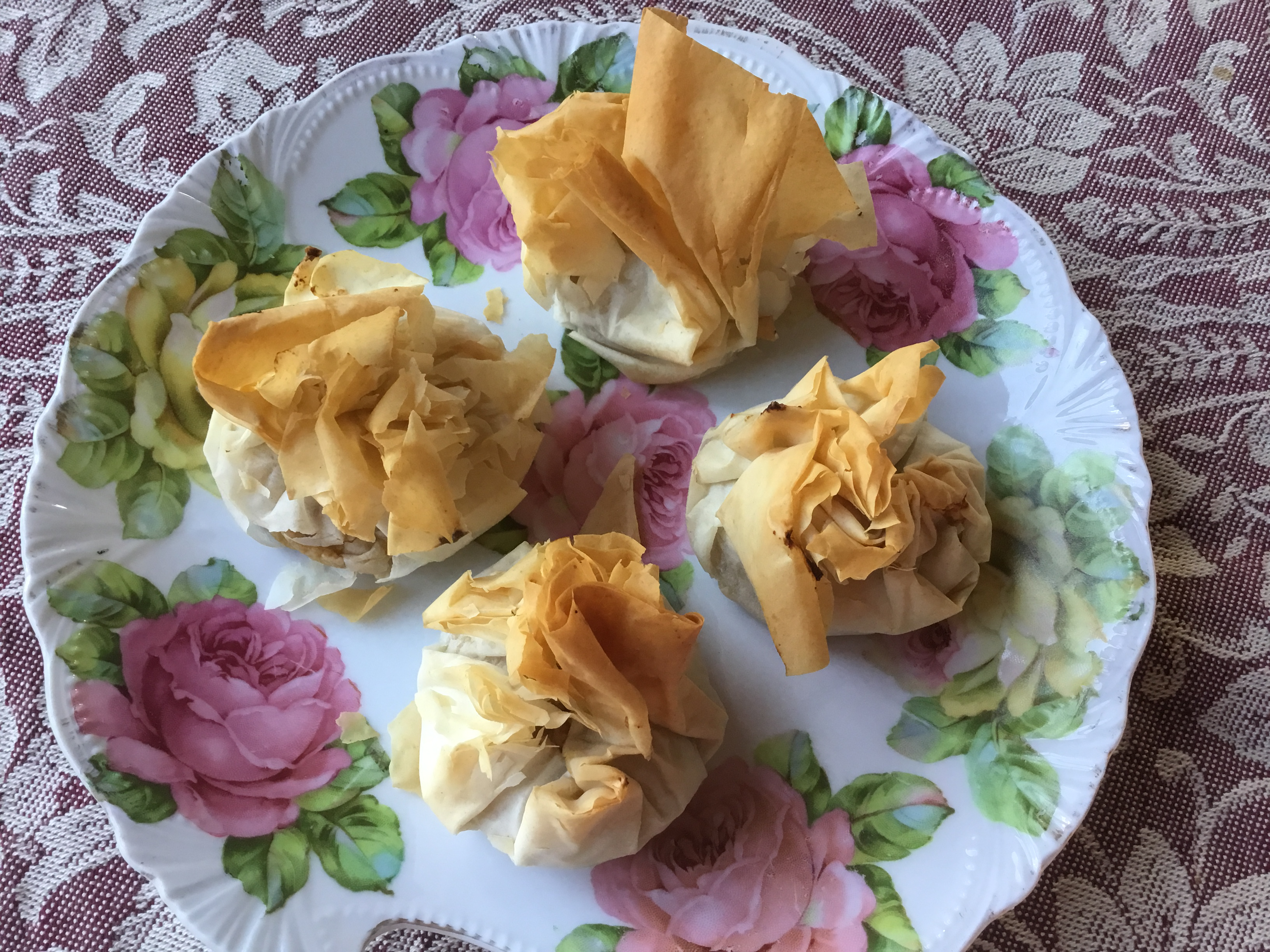 Leftover Phyllo Dough Pastries nch