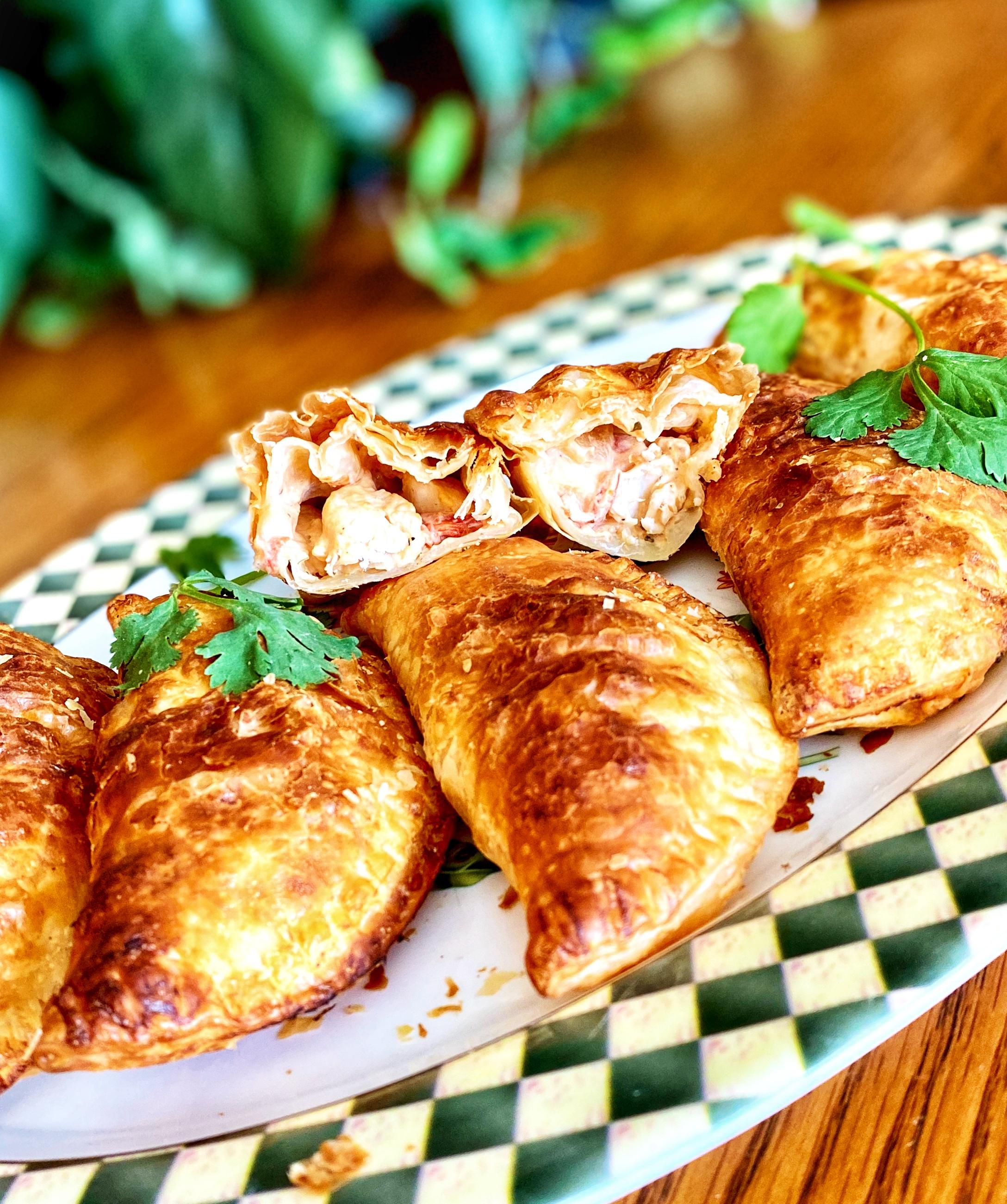Baked Chicken Empanadas