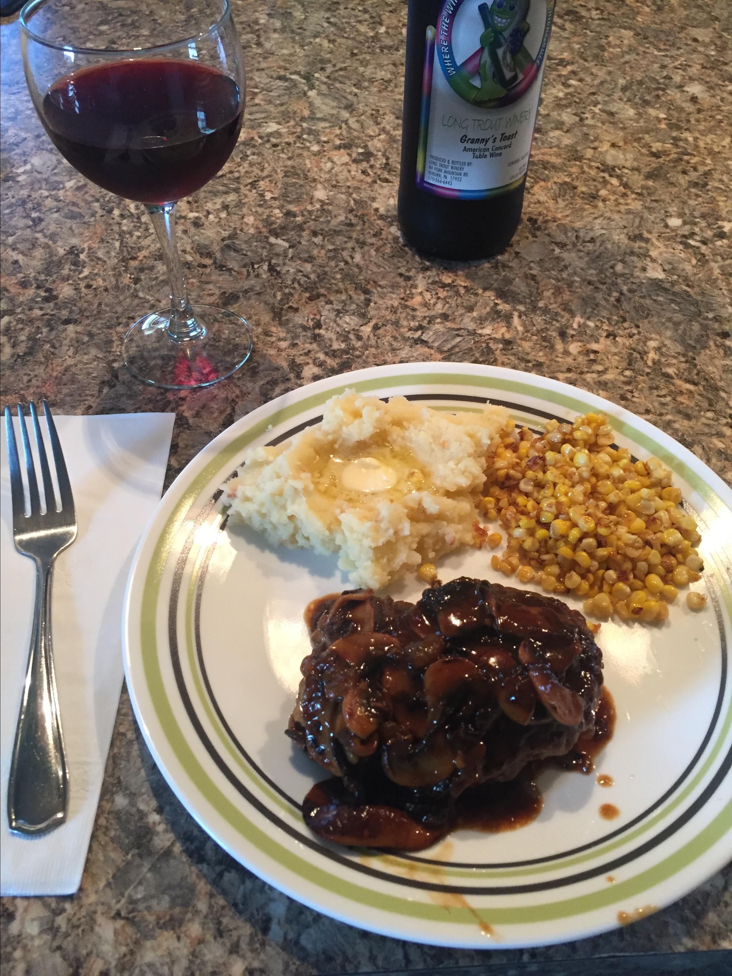 Chef John's Salisbury Steak patty