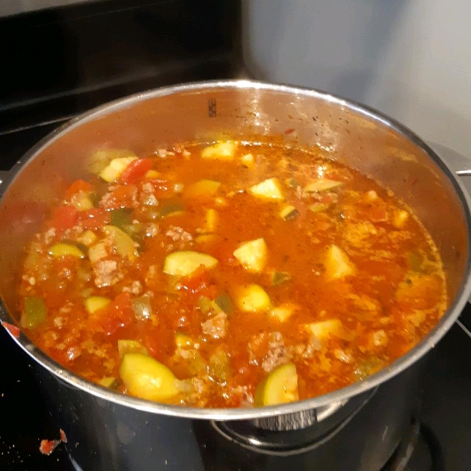 Grandma Gladys's Zucchini Soup Gail