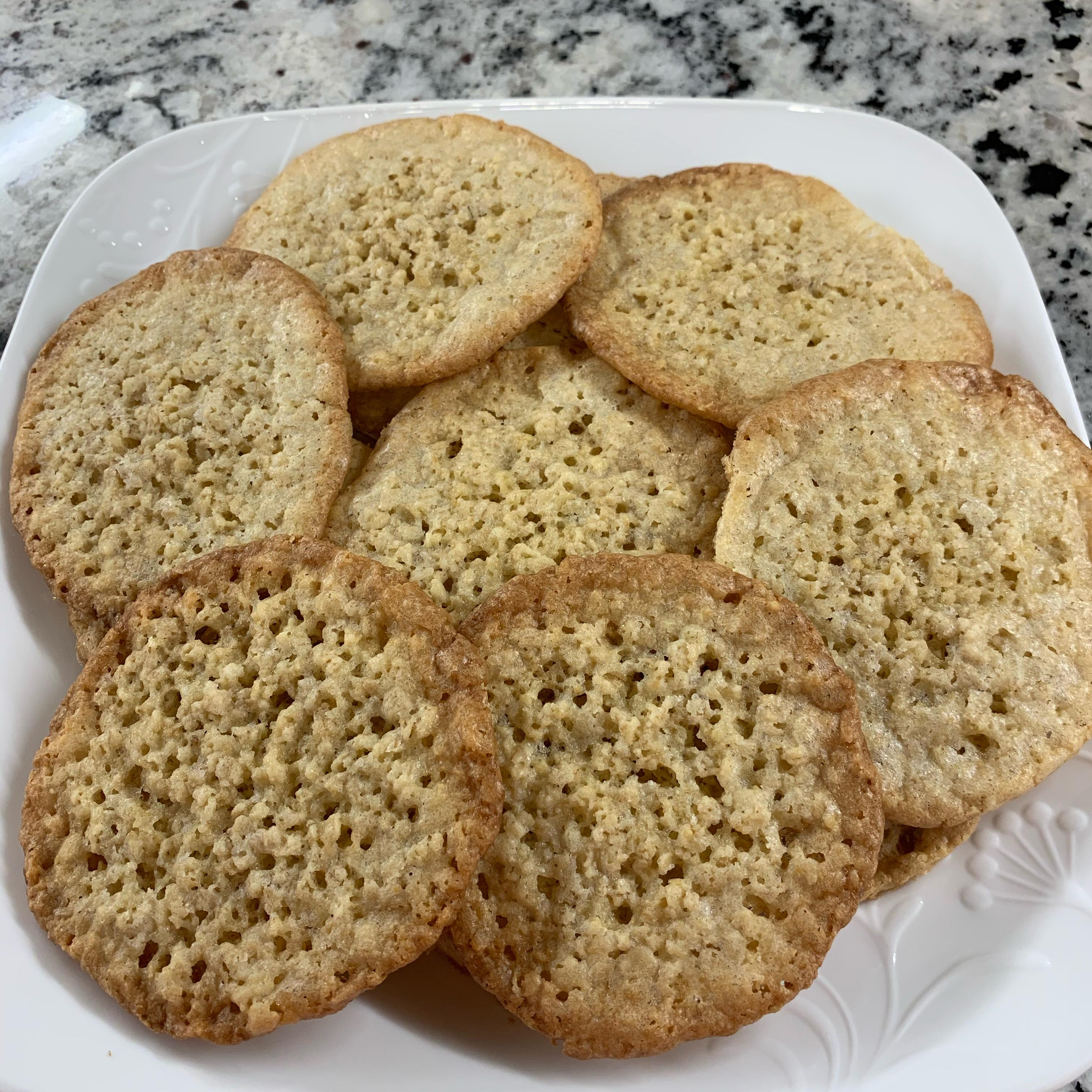Grandma's Lace Cookies Tammy