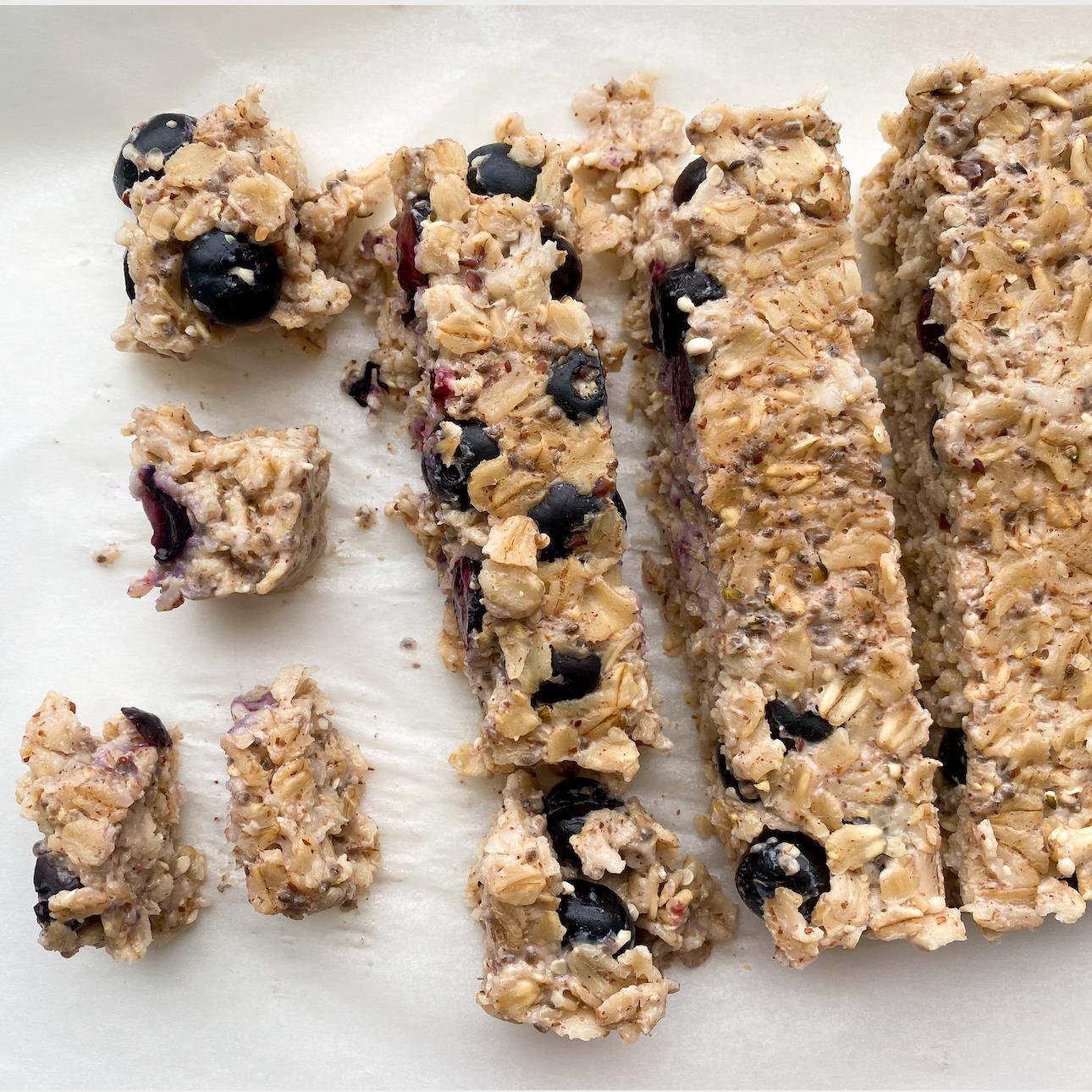 Baby-Led Weaning Oatmeal Bites