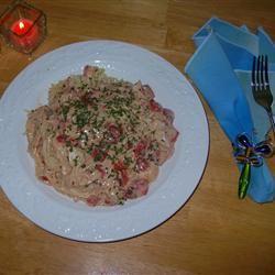Slow Cooker Spaghetti Chicken M_DAWG