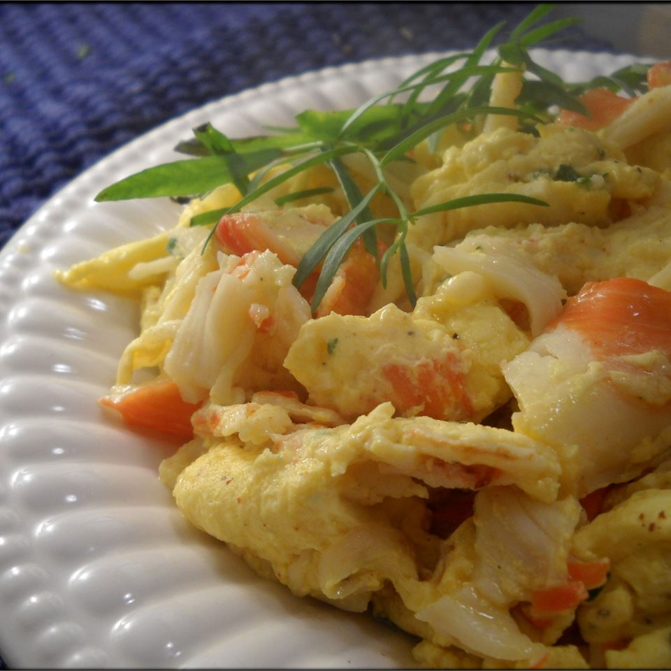Lobster Scrambled Eggs