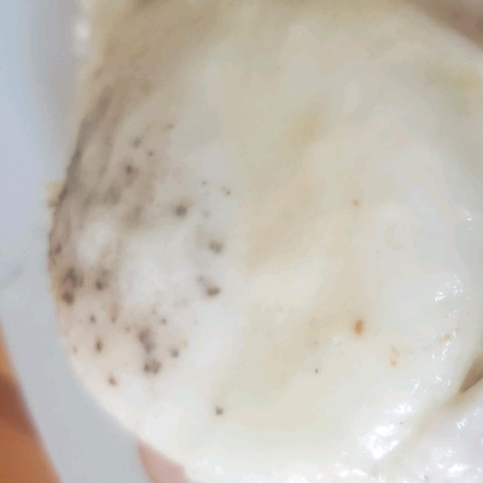 Rich Butter Cream-Poached Eggs Johanna