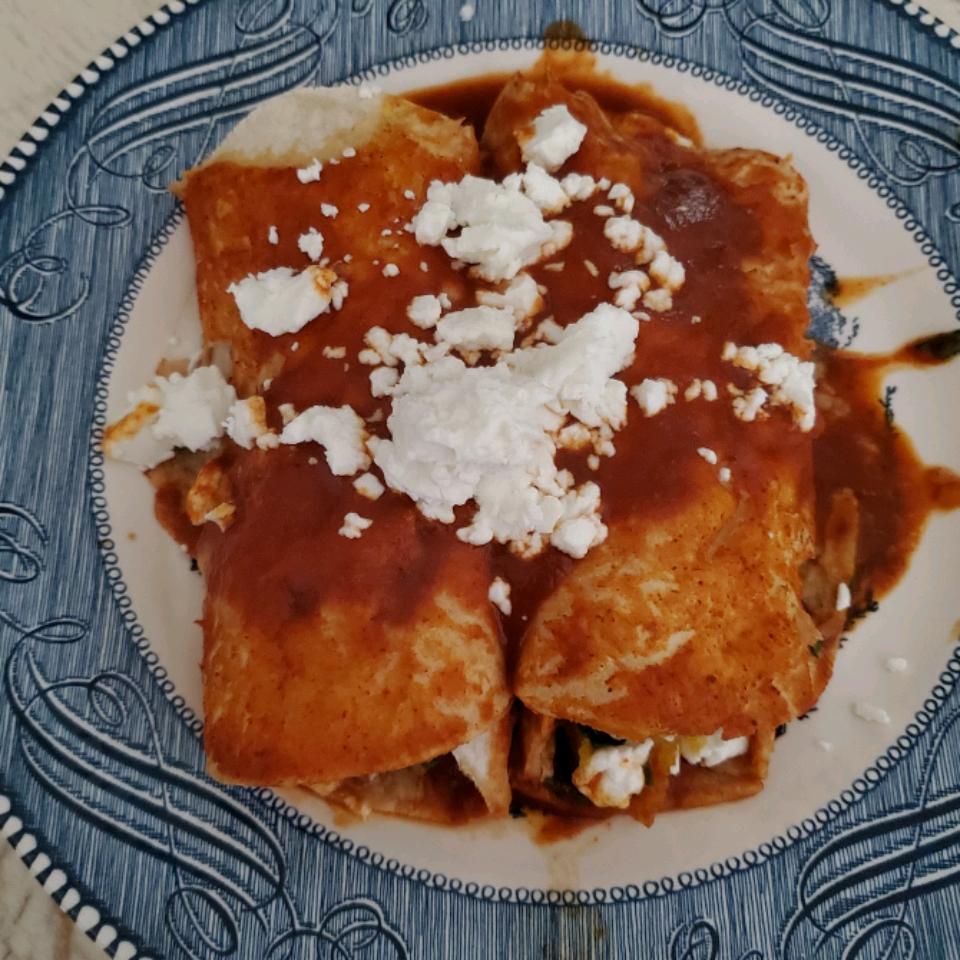 Butternut Squash Enchiladas Lfino111