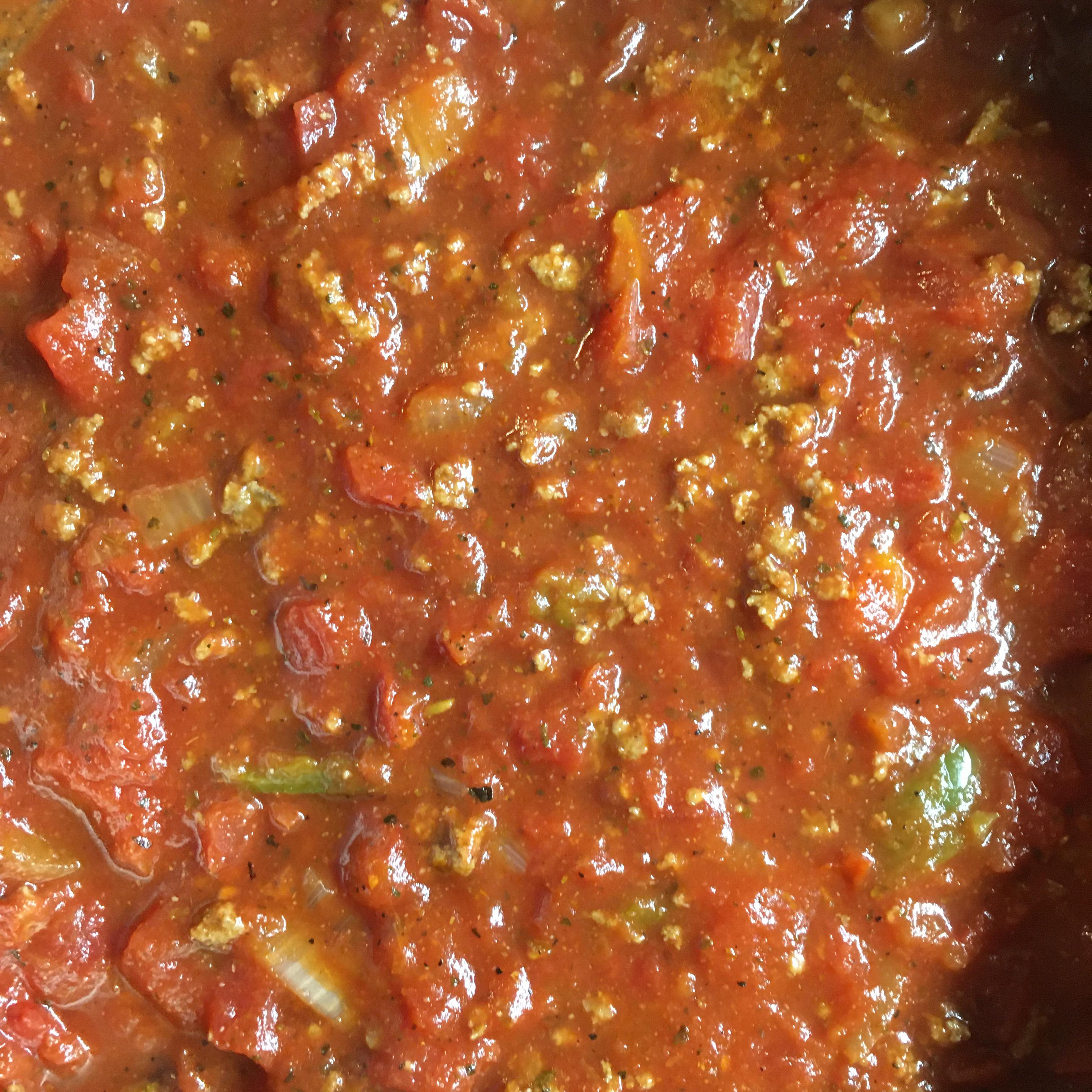 Spaghetti Sauce with Ground Beef Cindy Croal