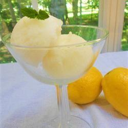 Lemon Sorbet Loves2Cook