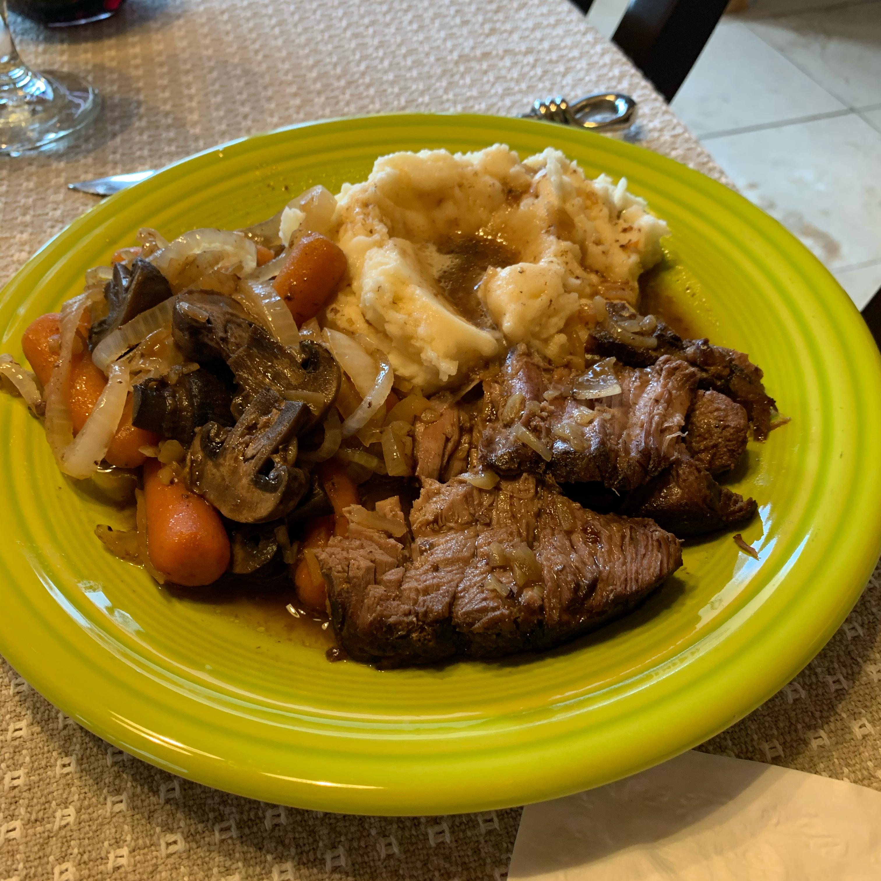 Marie's Easy Slow Cooker Pot Roast herbgardener
