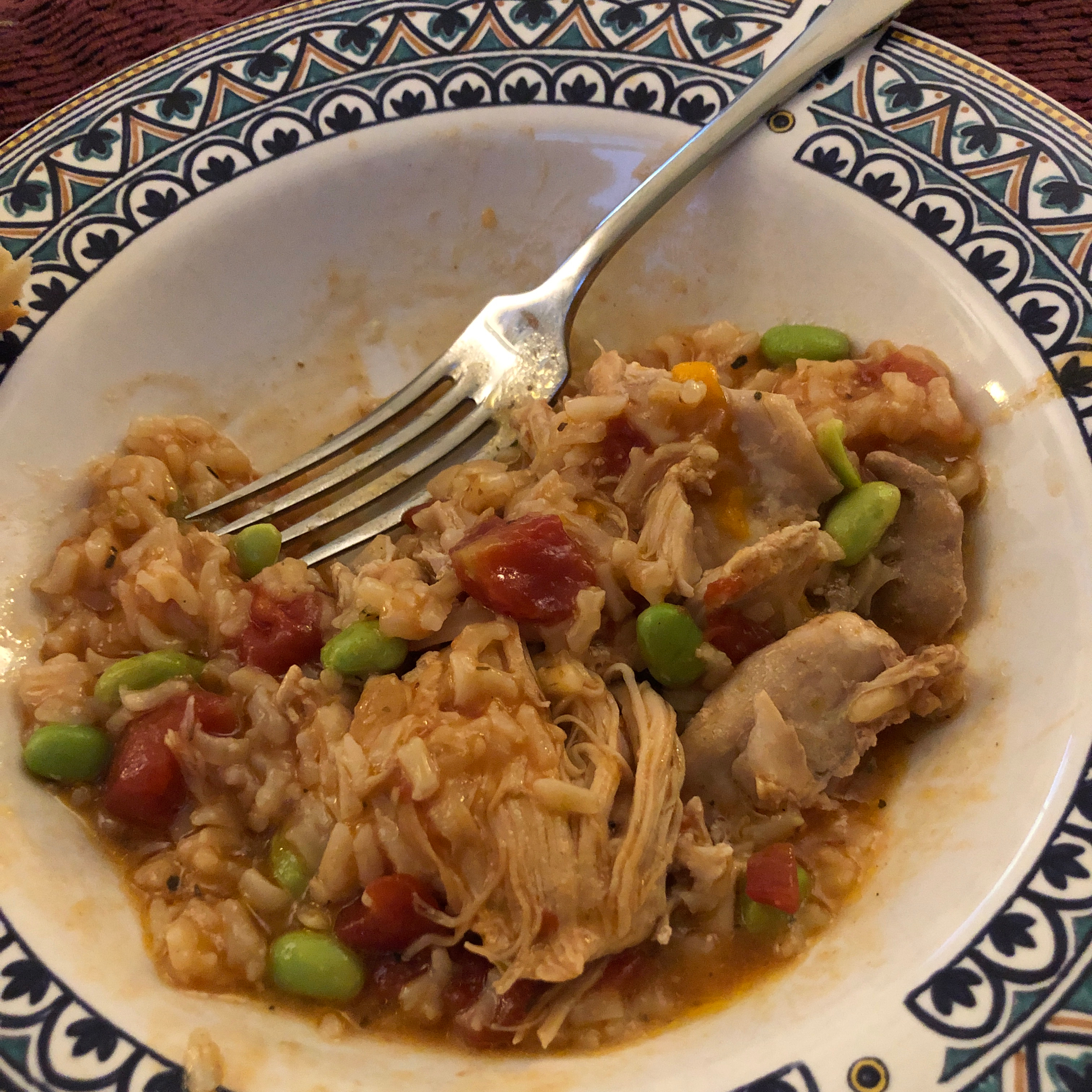 Instant Pot® Spanish Chicken and Rice thenemos