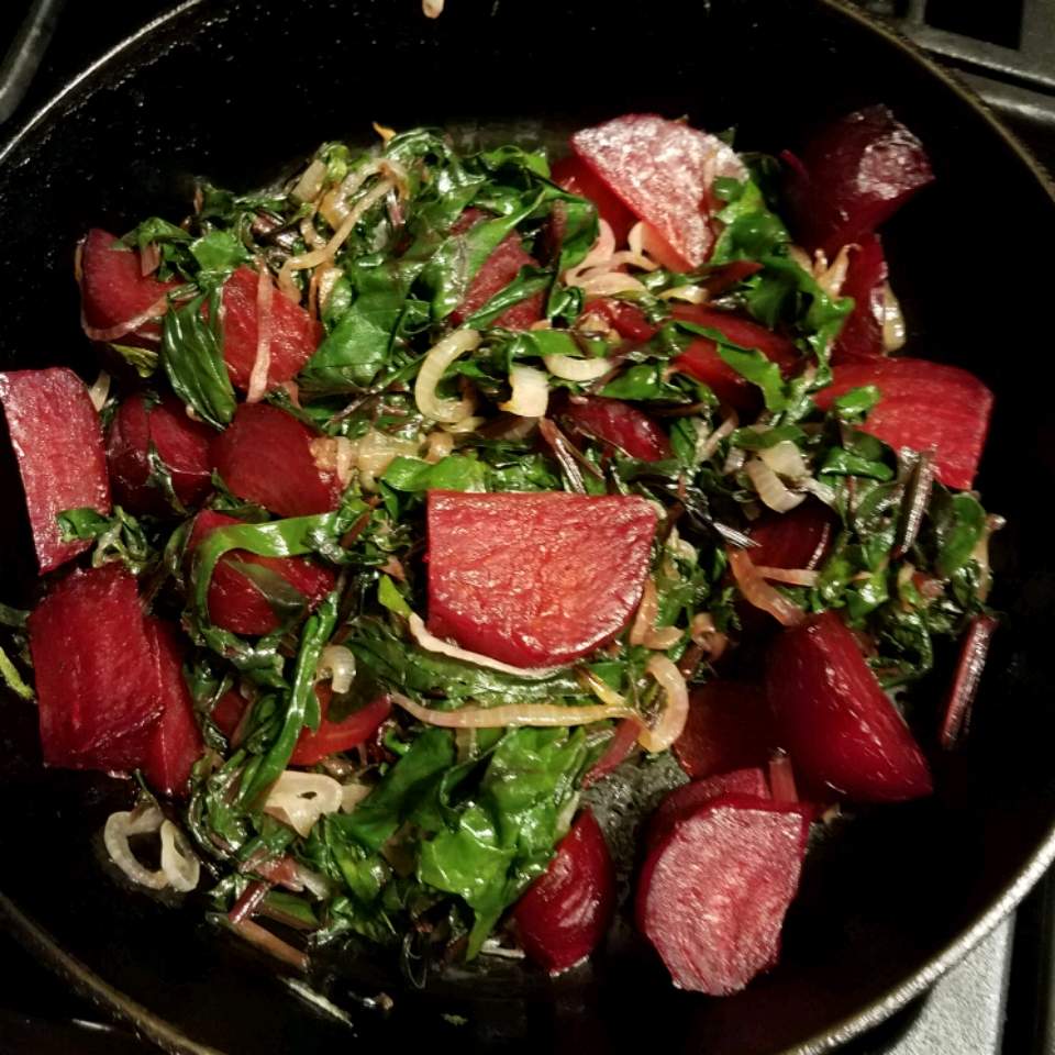 Beets and Greens Debbie