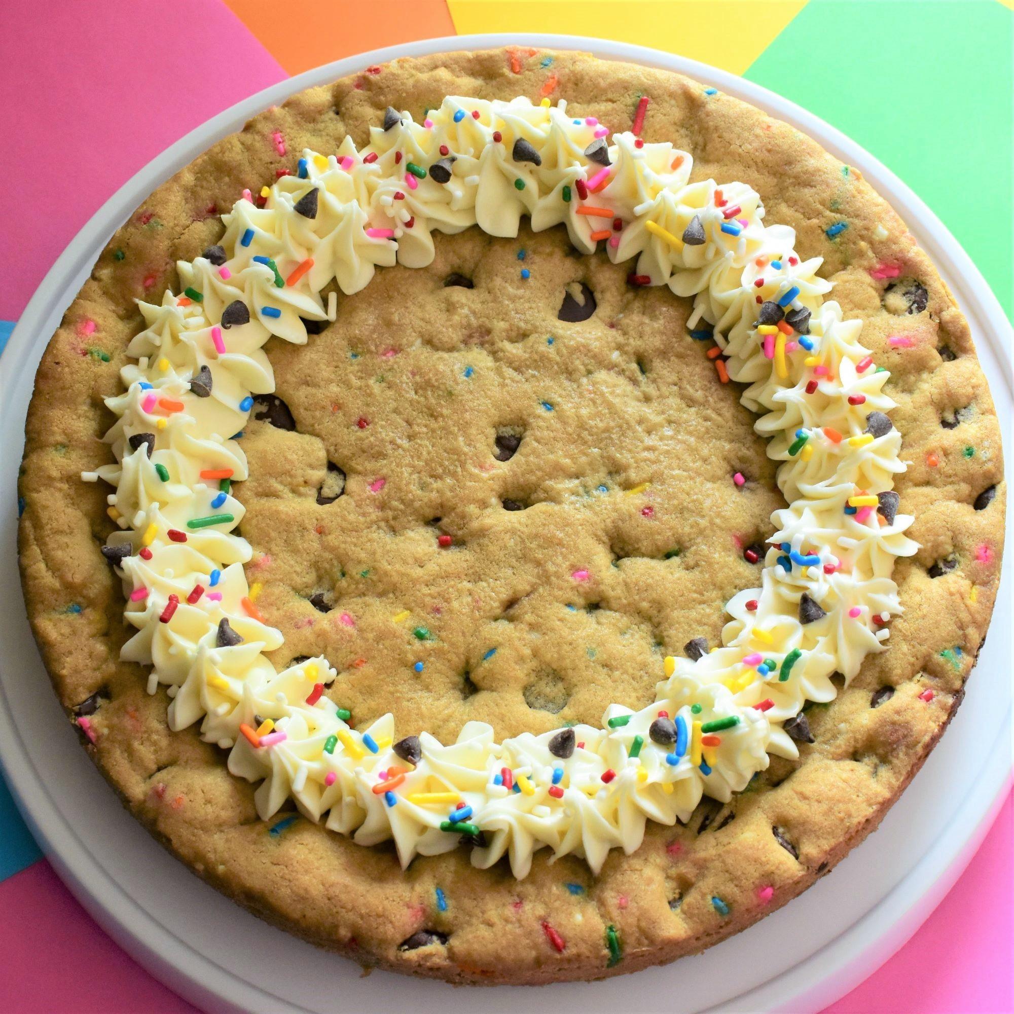 Homemade Cookie Cake Kim