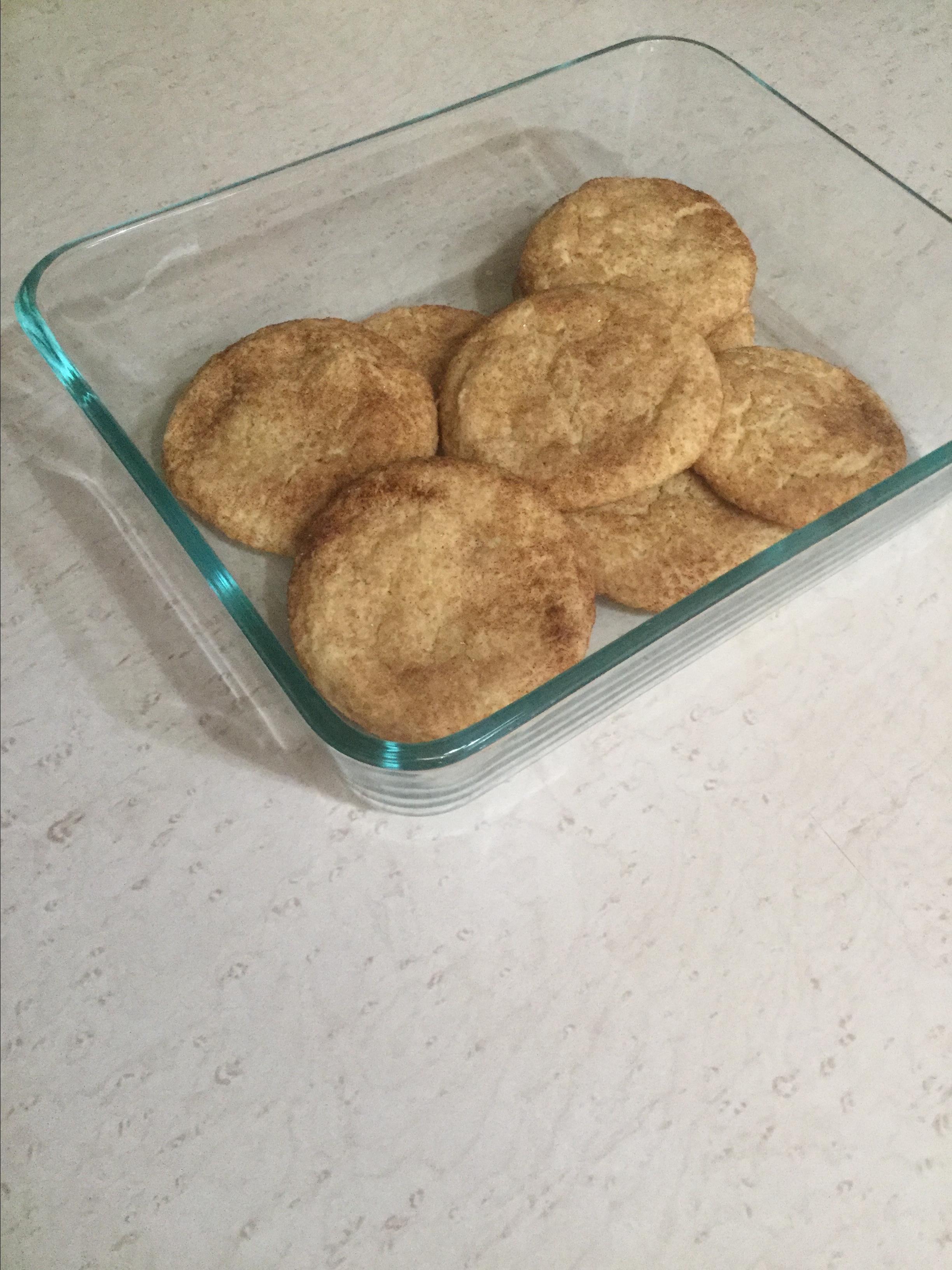 Simple Gluten-Free Snickerdoodle Cookies Heidi Cooper
