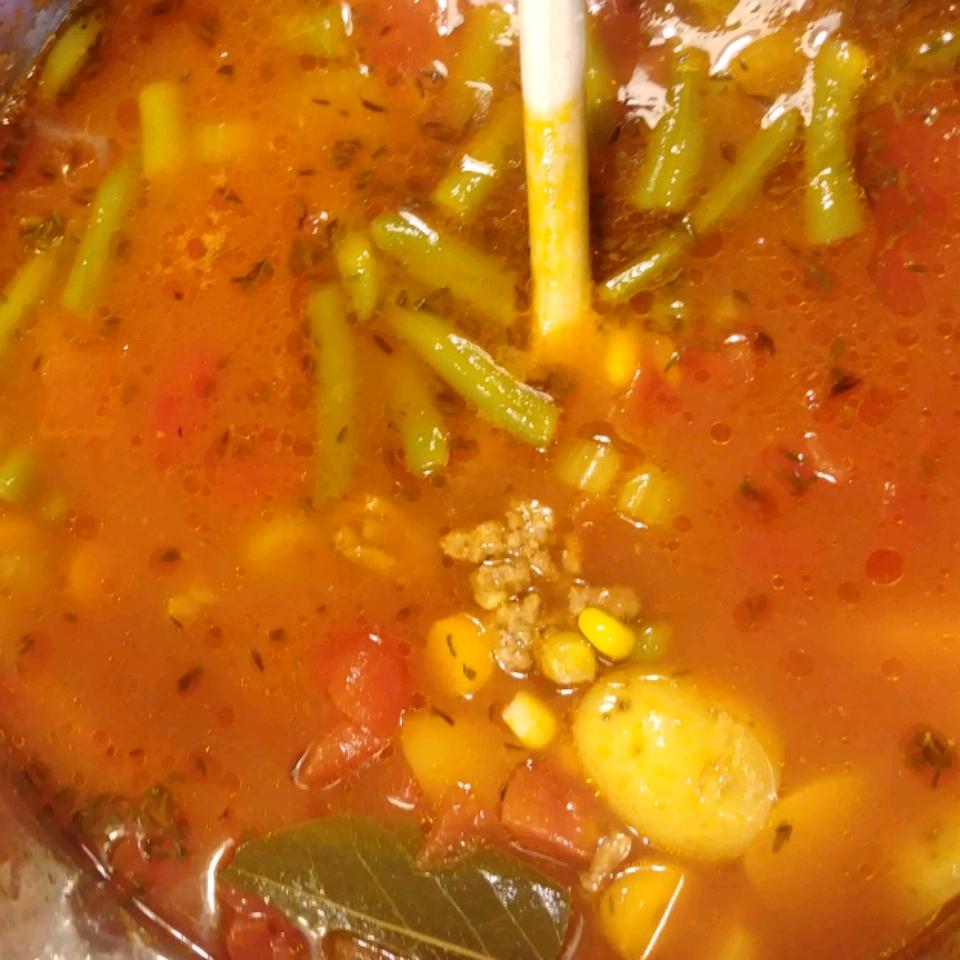 Instant Pot® Hamburger Soup MOT