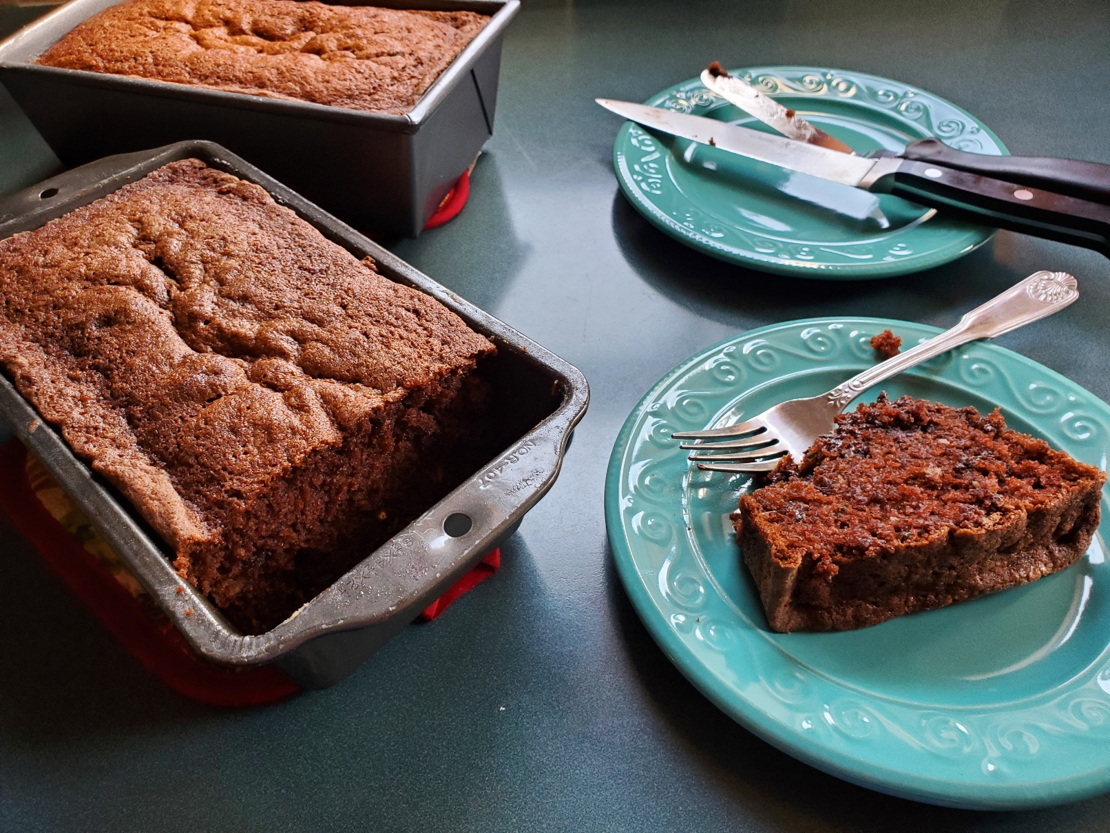 Grandma's Chocolate Zucchini Bread cookingsooz