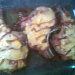 Bacon Wrapped Pork Chops