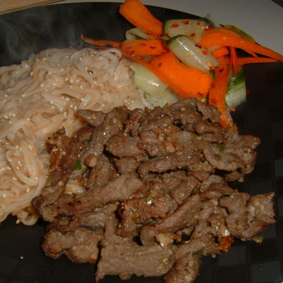 Korean BBQ Beef (Pul-Kogi) Caroline C