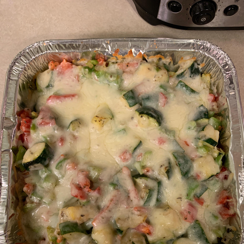 Zucchini and Cheese kerri