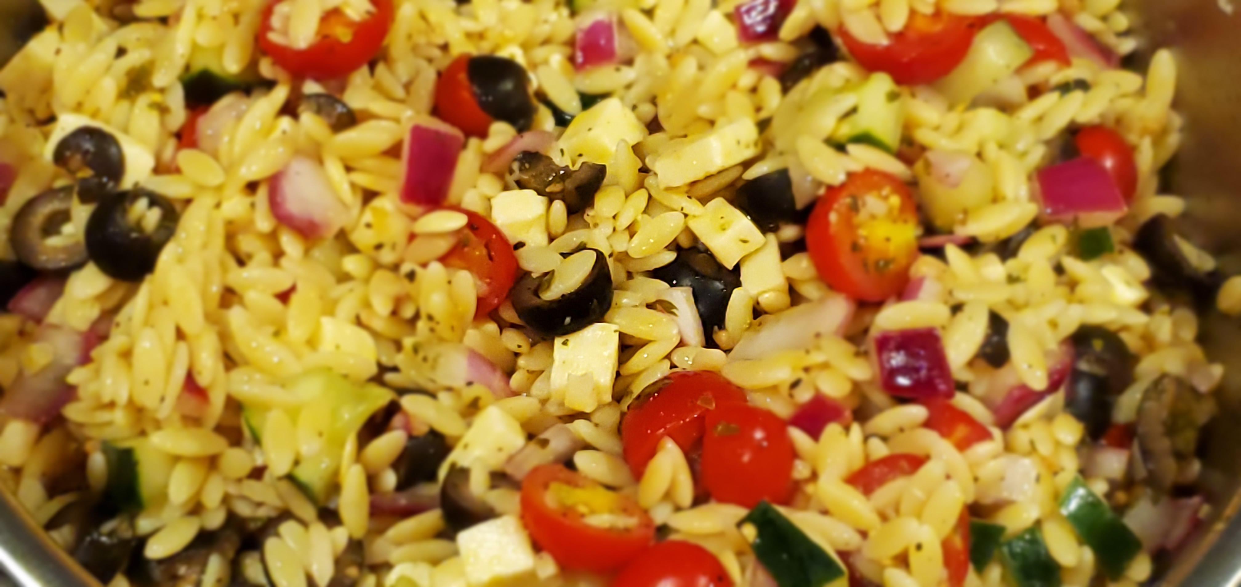 Mediterranean Orzo Salad Danceann