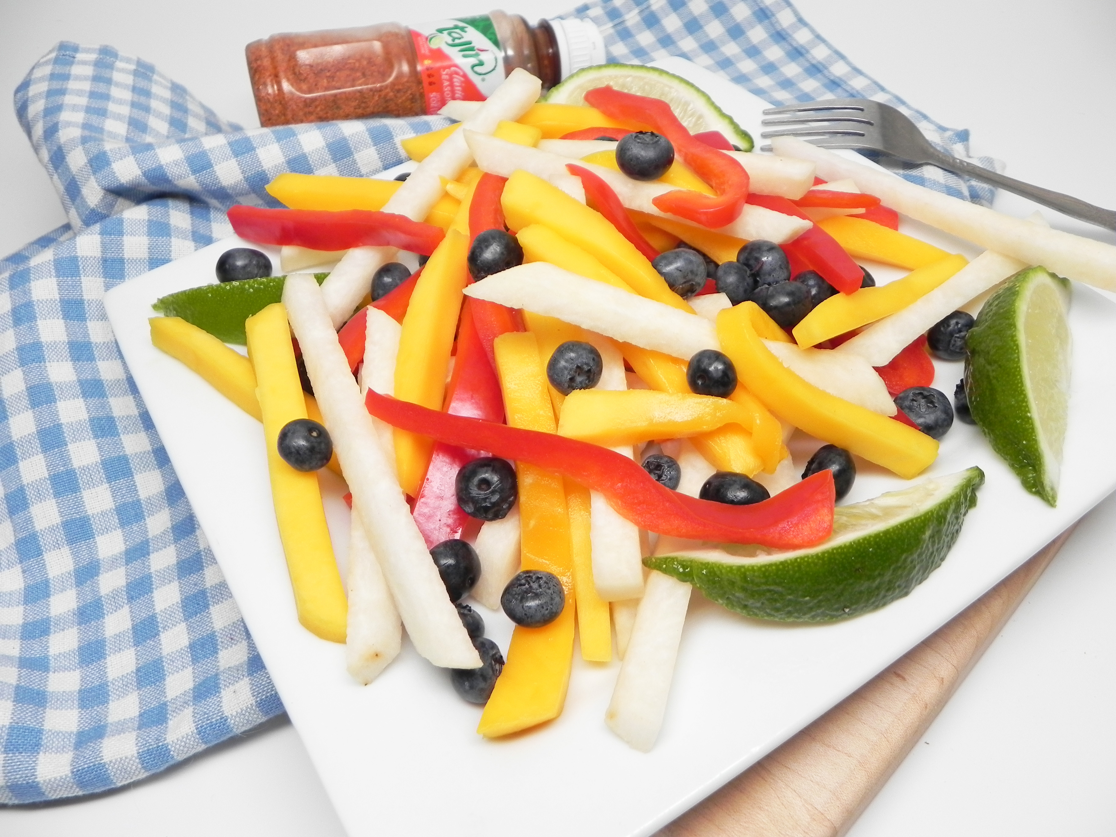 Colorful Mango Salad