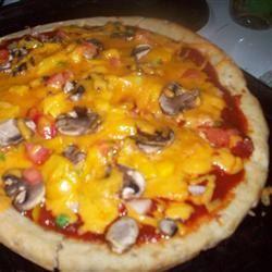 Vegetarian's Delight Pizza
