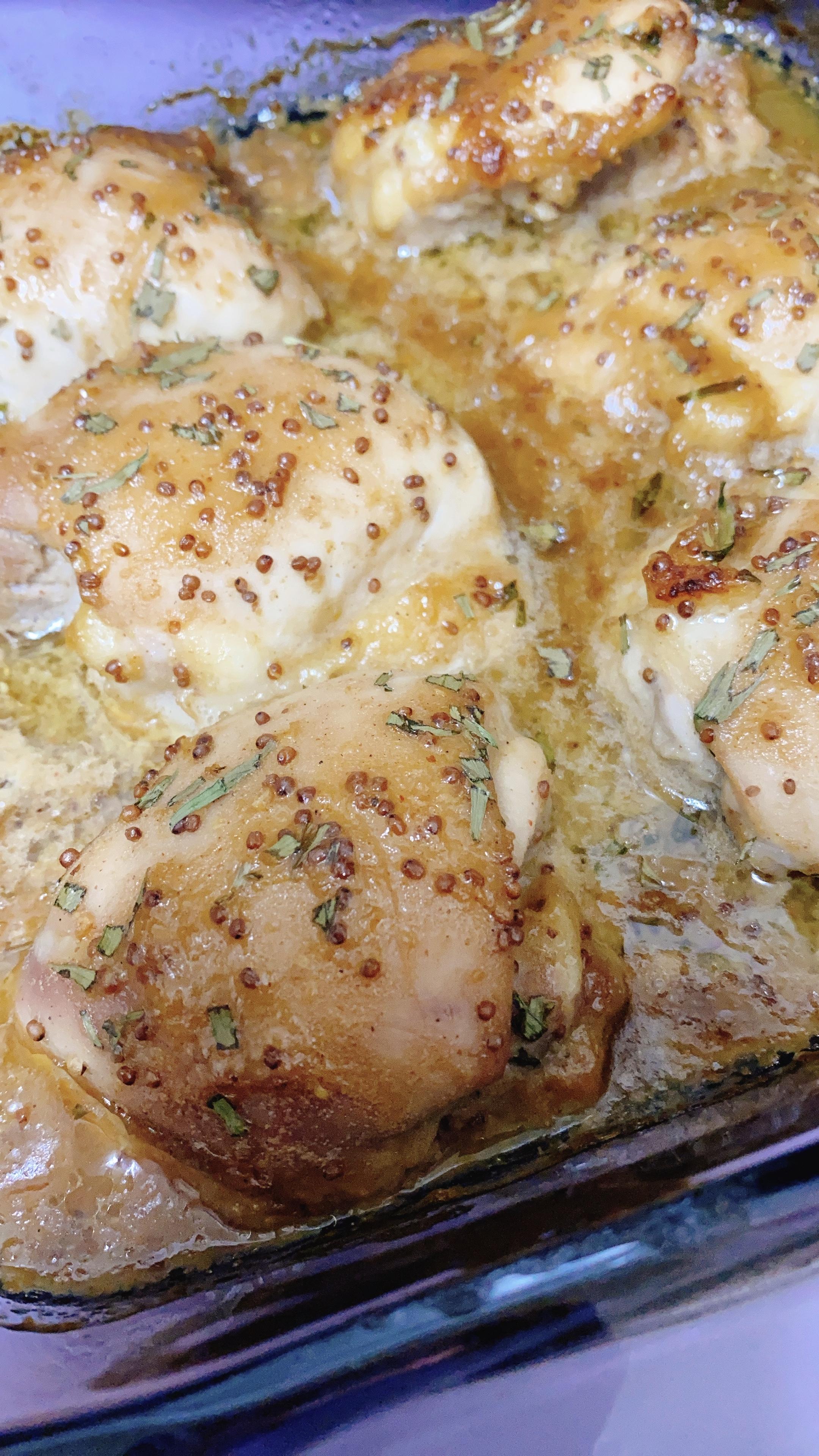 Honey Mustard Chicken Thighs Allrecipes