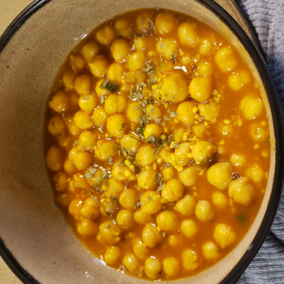 Chickpea Curry Narvin Brijmohan