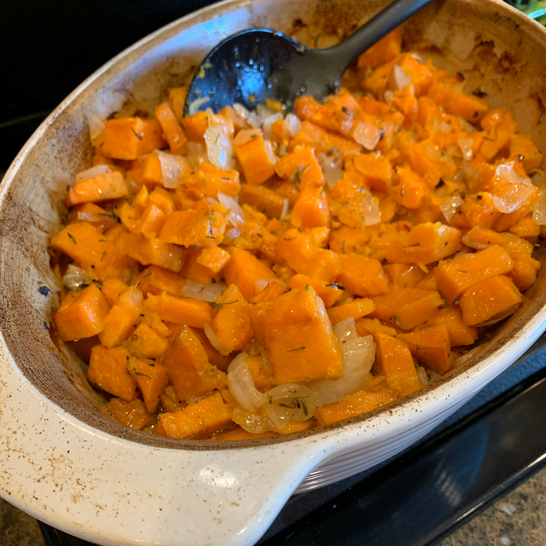 Roasted Sweet Potatoes & Onions Wendy