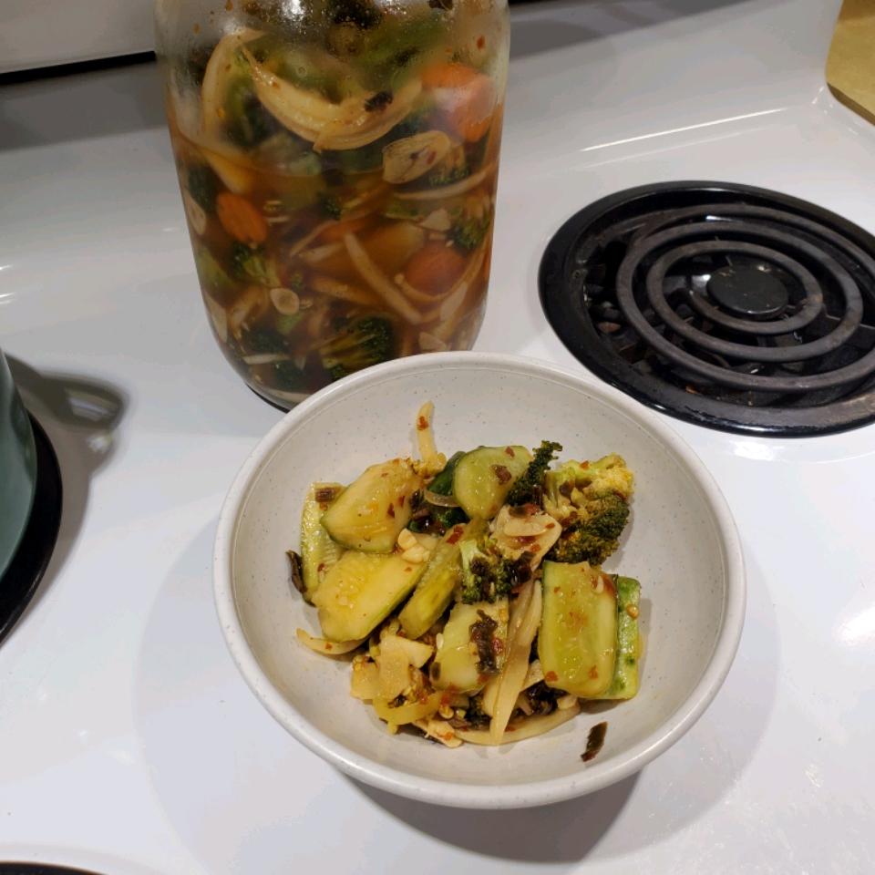 Chinese-Korean Cucumber Kimchi Paul Kelly