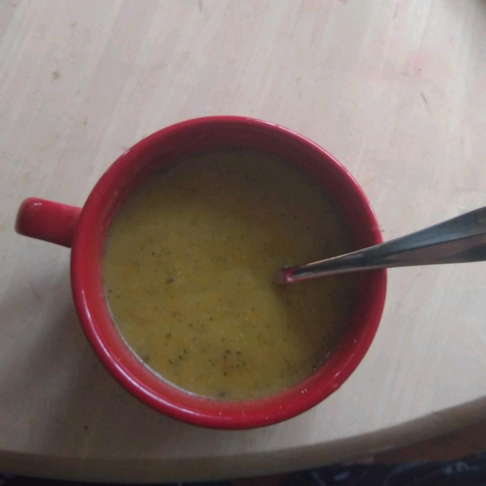 Summer Squash Soup Kyle Patrick