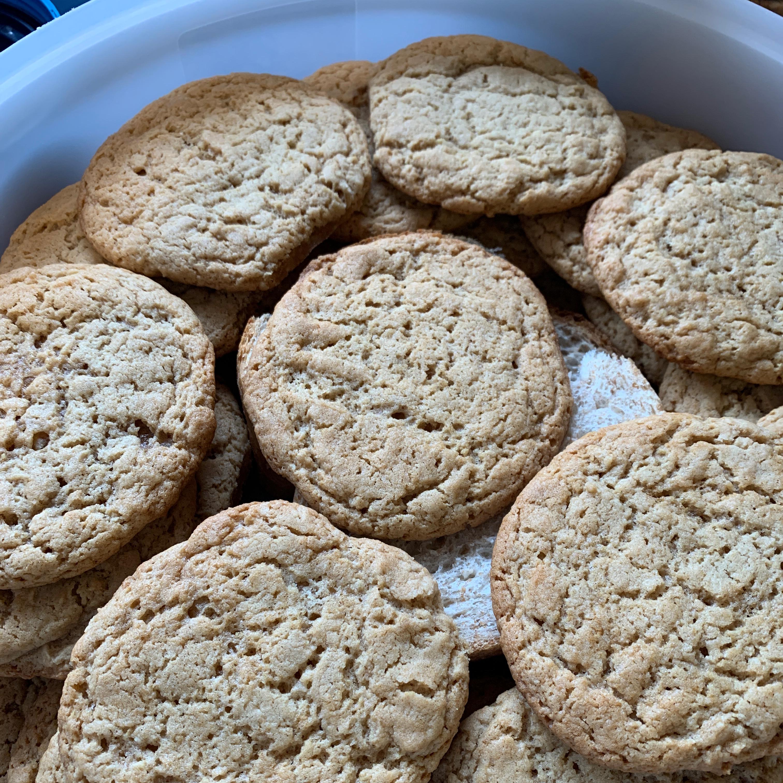 Healthier Classic Peanut Butter Cookies ChefAlison