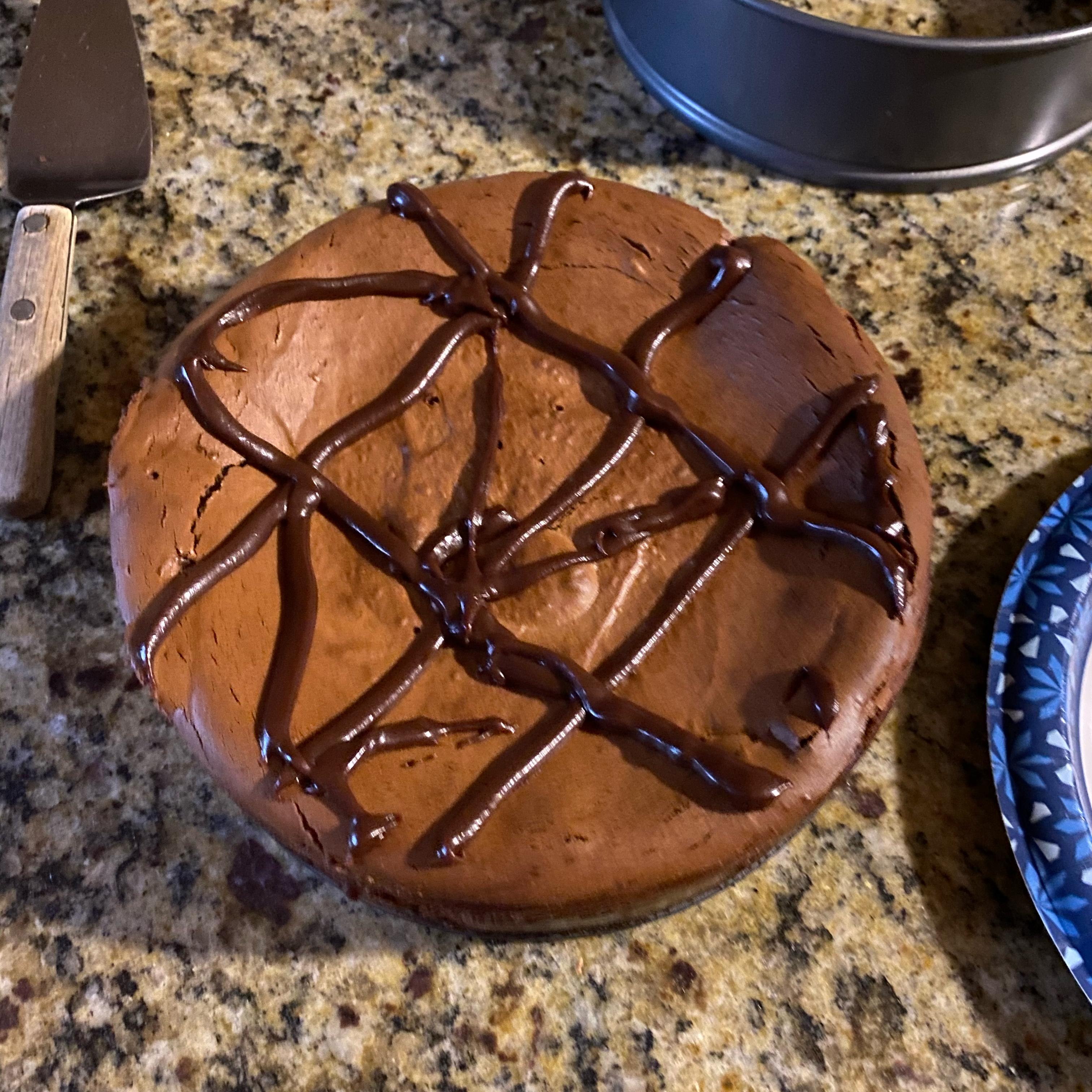 PHILADELPHIA Double-Chocolate Cheesecake