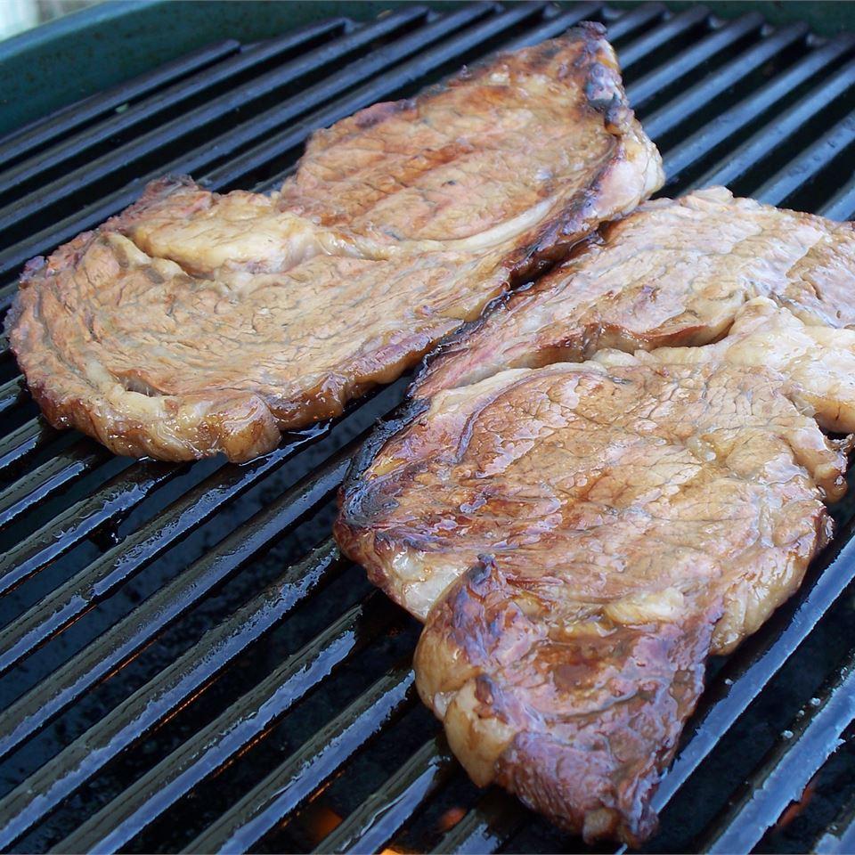 Bourbon Street Rib-Eye Steak