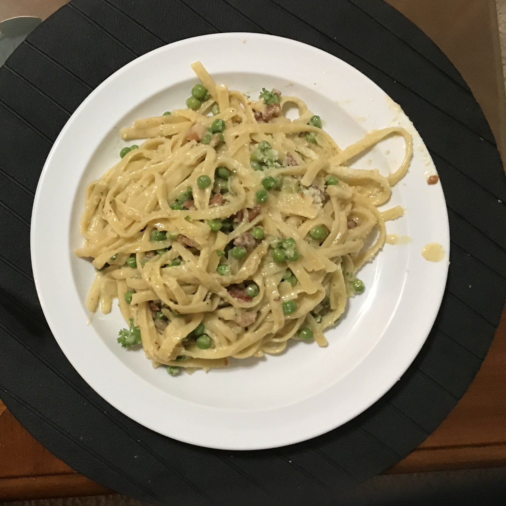 Classic Carbonara with Pancetta