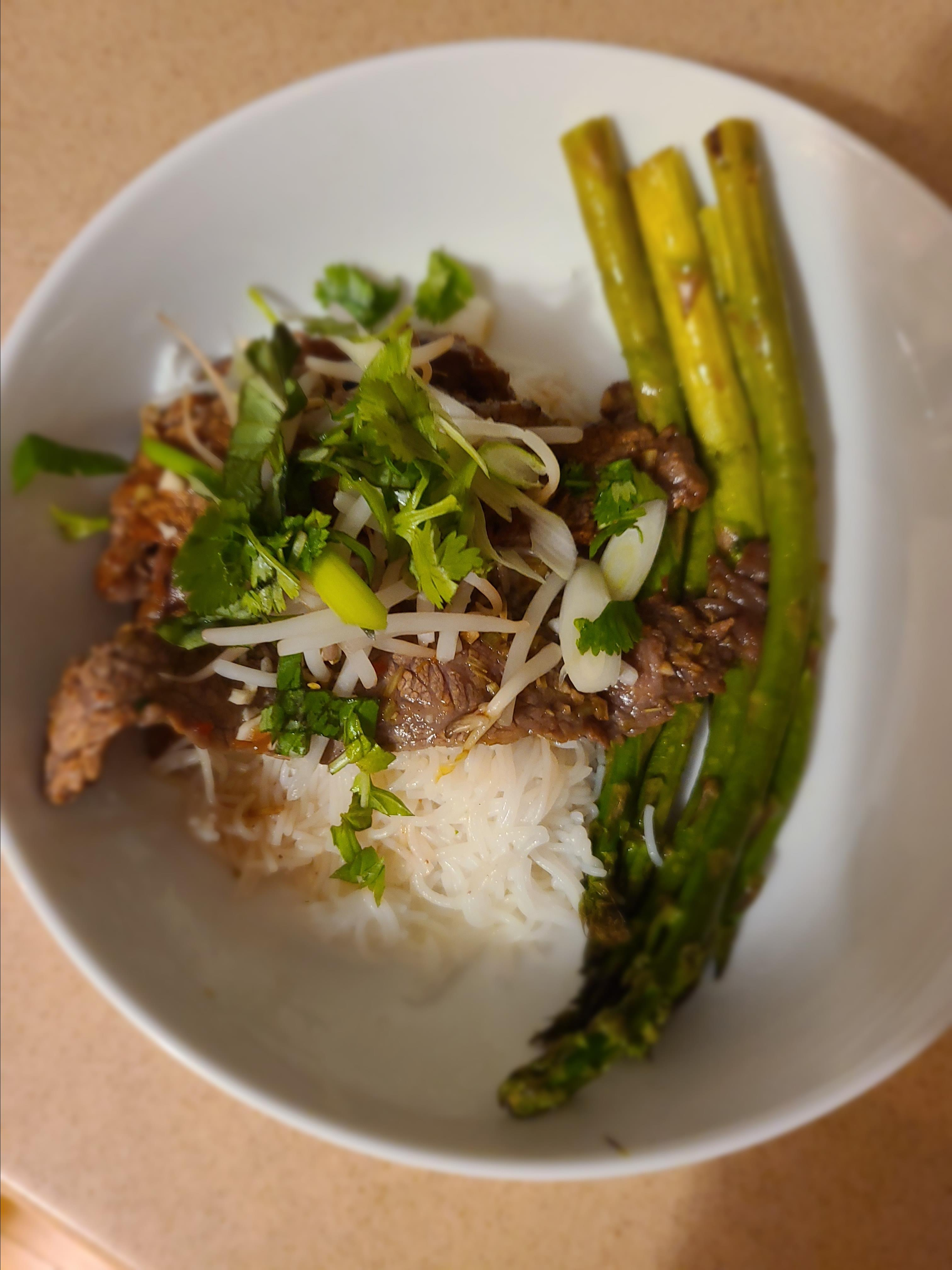 Vietnamese Lemongrass Beef and Noodles Awilda