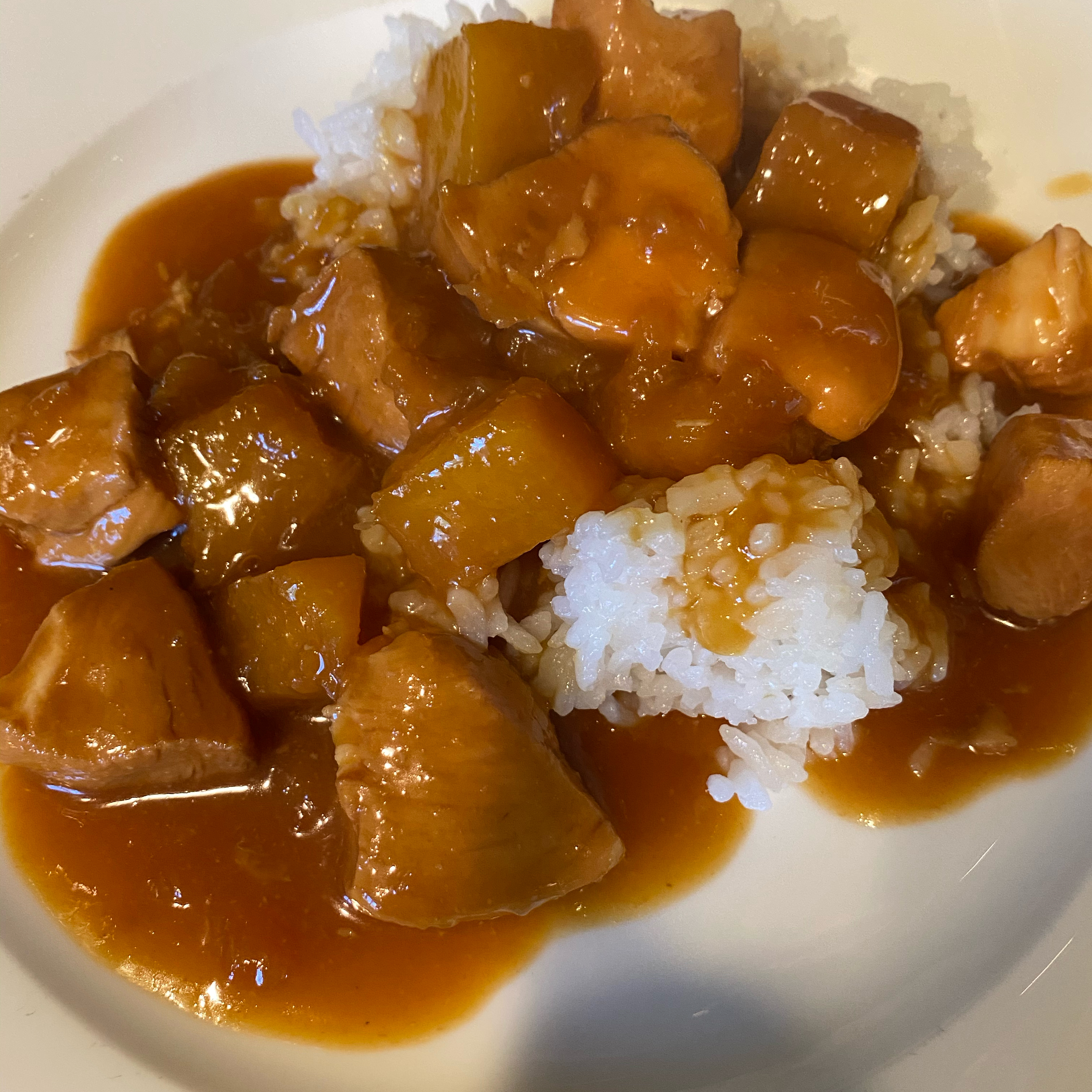 Pressure Cooker Teriyaki Chicken