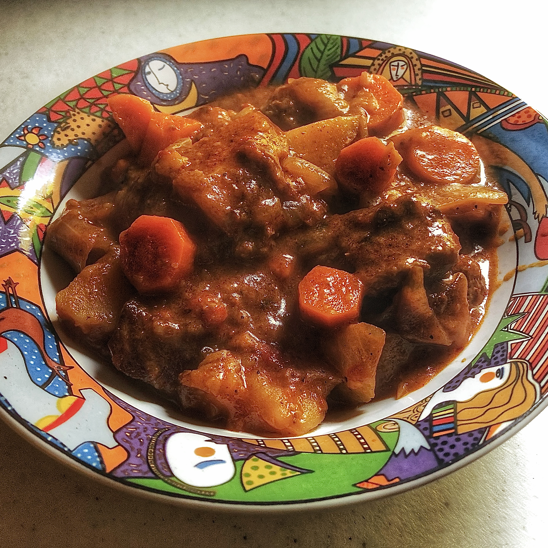 Alita's Tomato Beef Stew