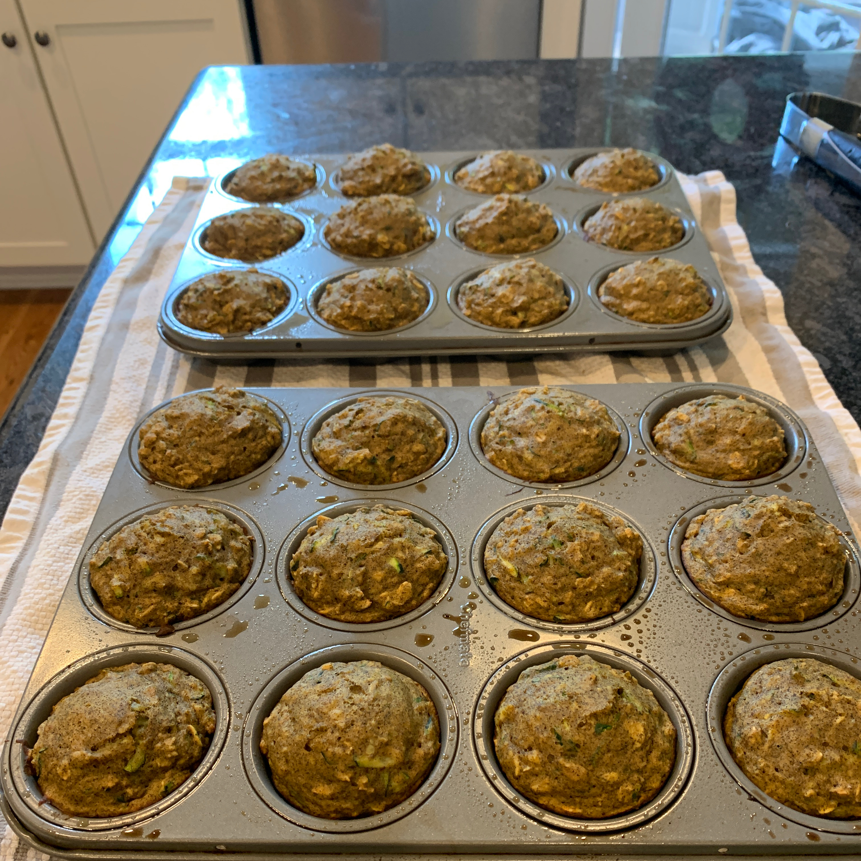 Healthy Pumpkin Zucchini Muffins P Suzette Orr