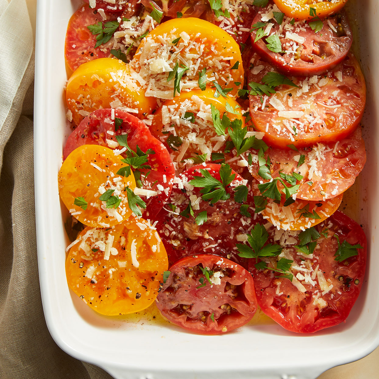Garlicky Marinated Tomatoes Allrecipes Trusted Brands