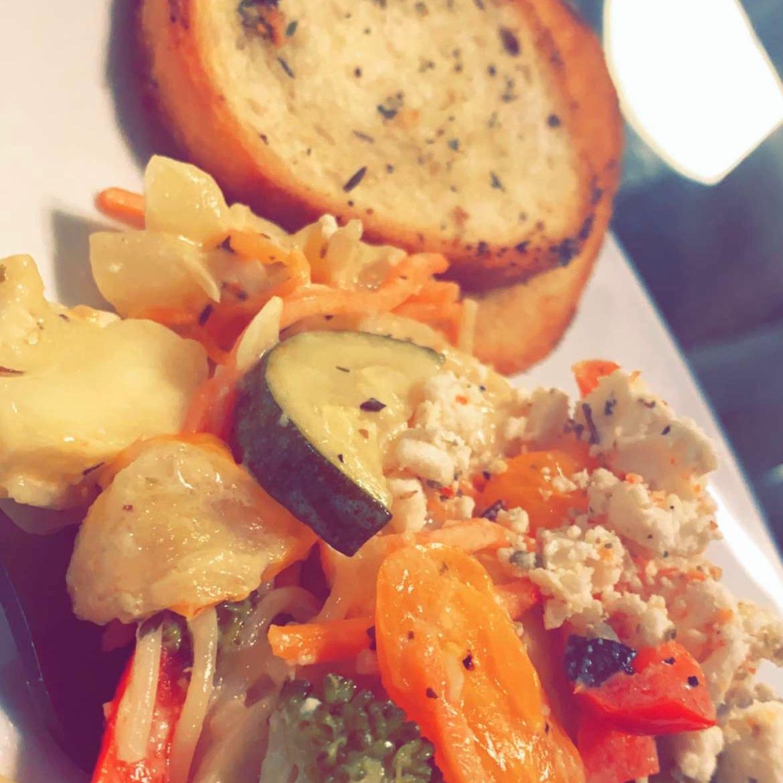 Linguini with Vegetables Ashassah Vaughn
