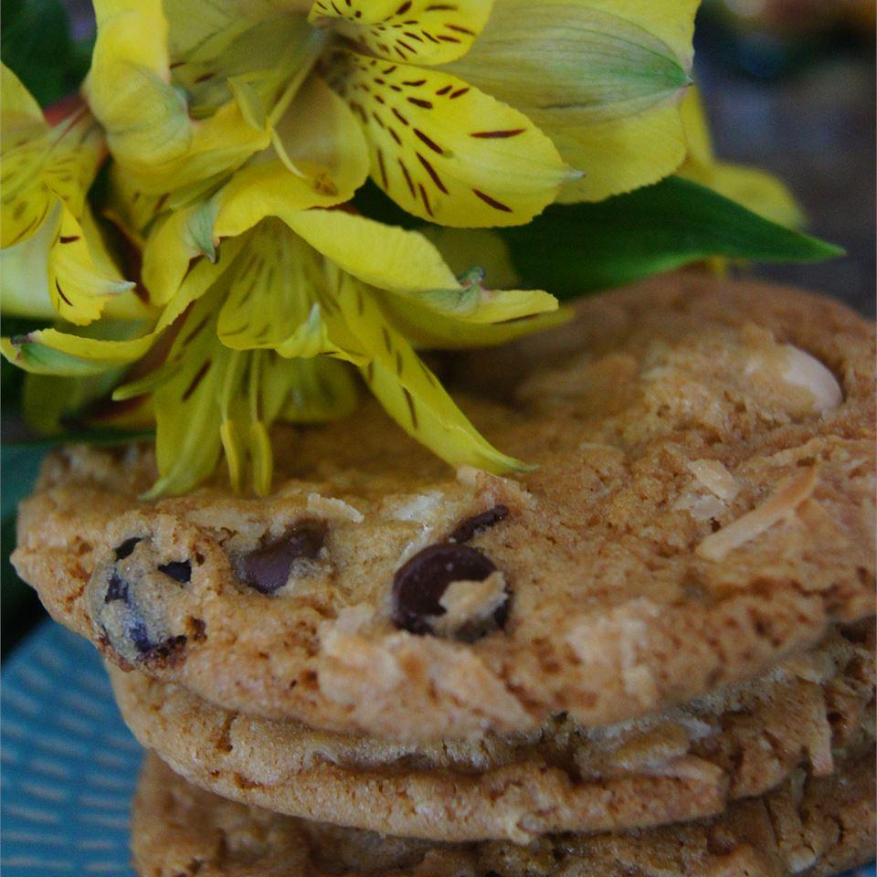 Coconut Joy Cookies TheBritishBaker