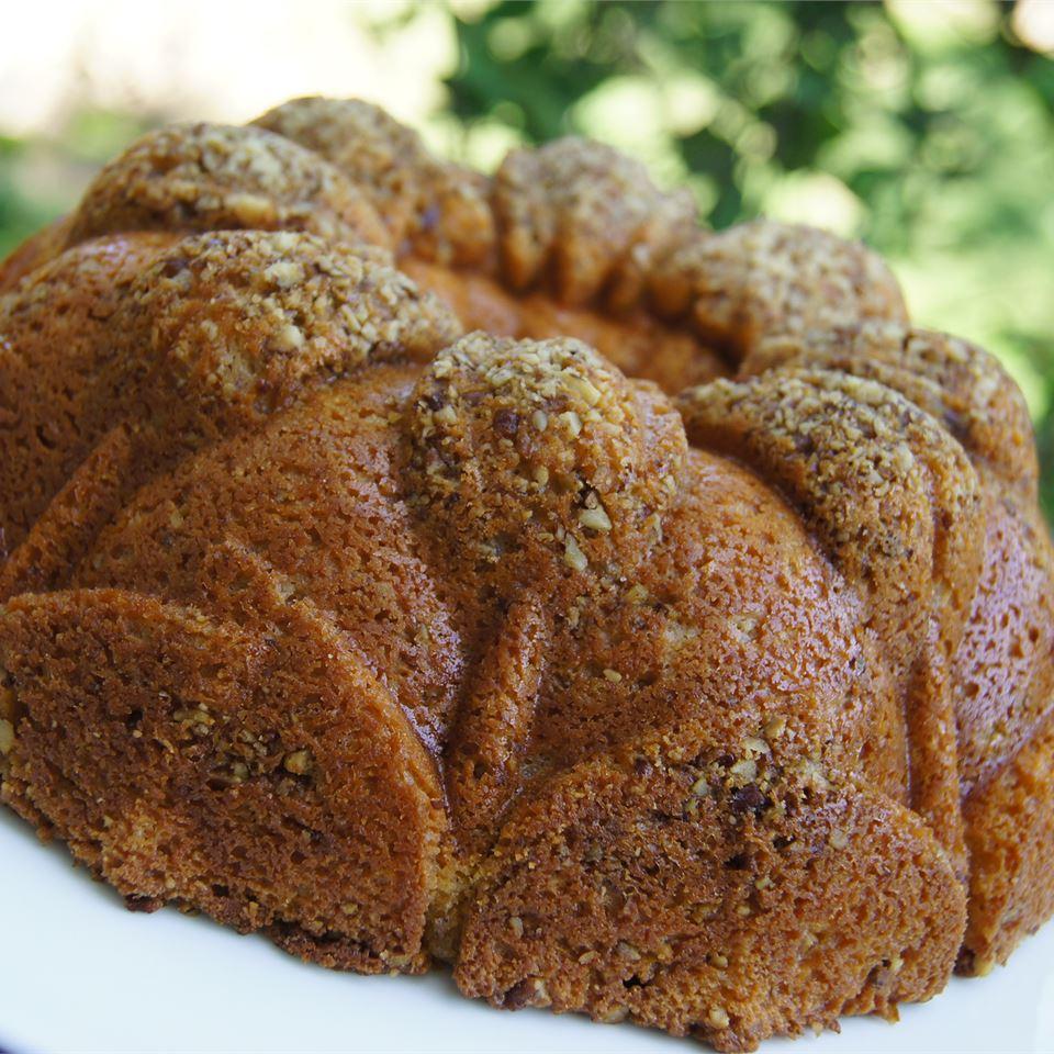 Orange Nut Raisin Cake