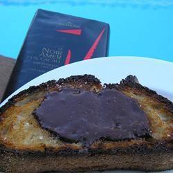 Chocolate Sea Salt Crostini mauigirl