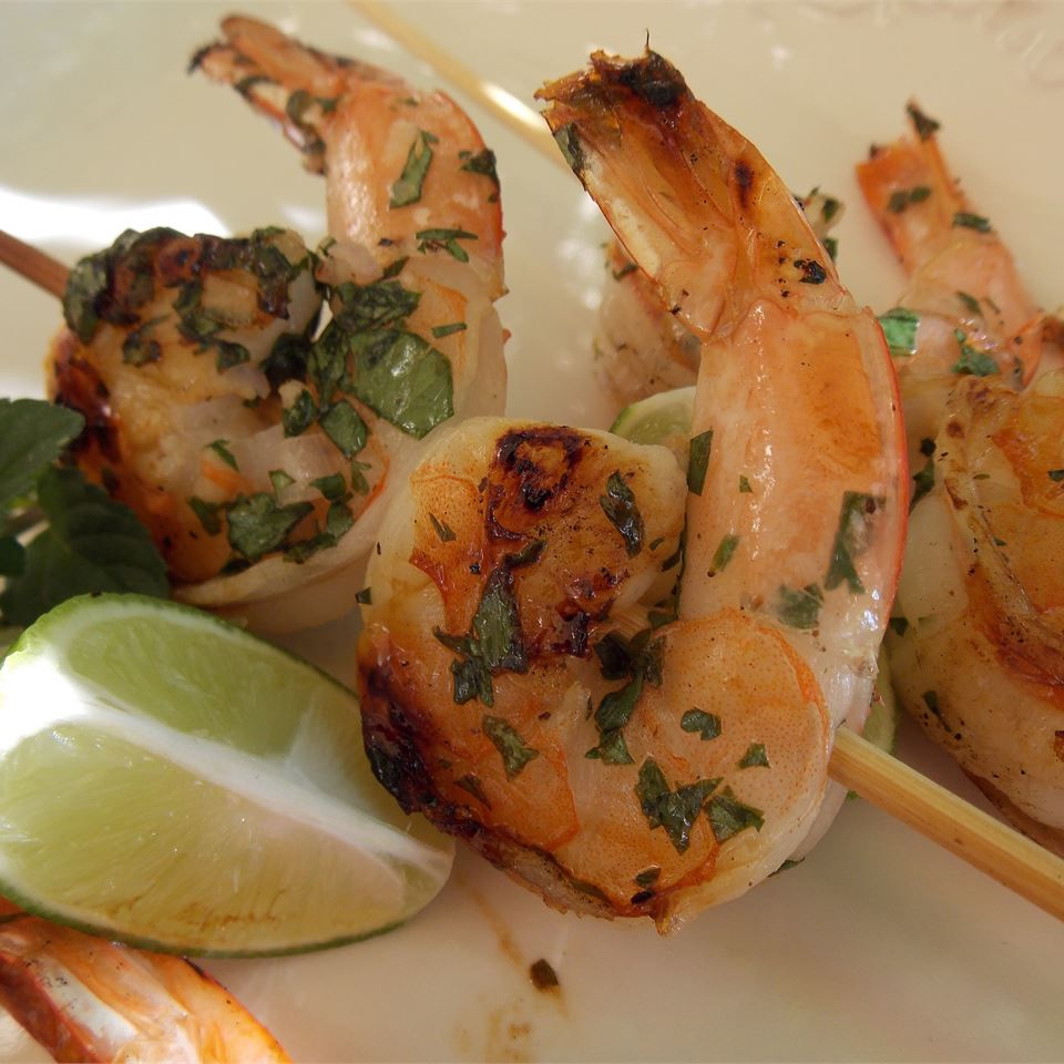 'But Why Is The Rum Gone?' Grilled Shrimp Baking Nana