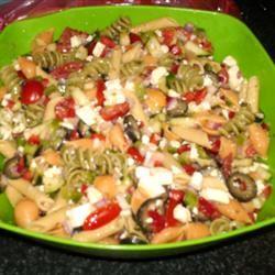 Greek Pasta Salad lilysmommy