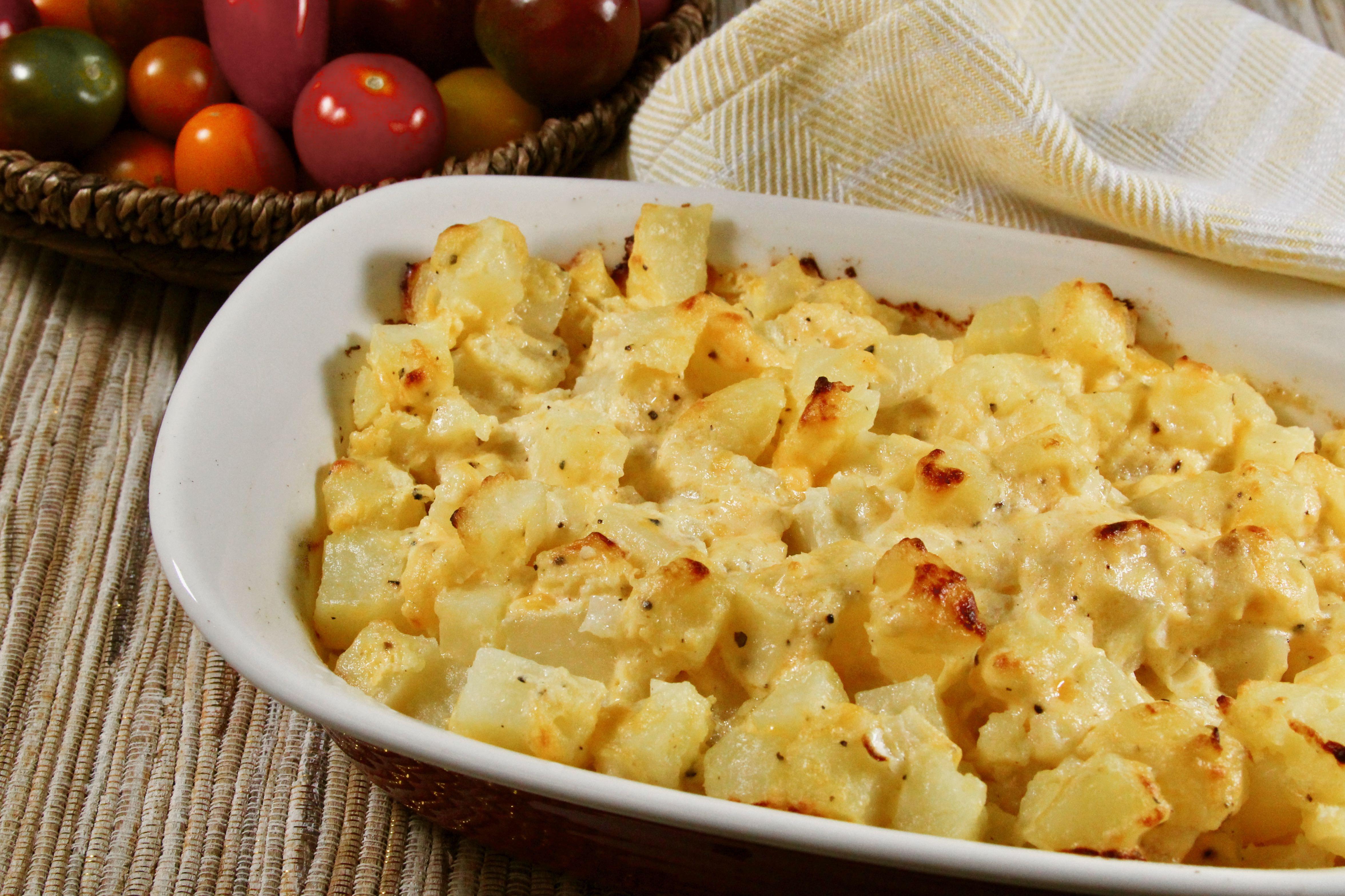 Comforting Cheesy Potatoes