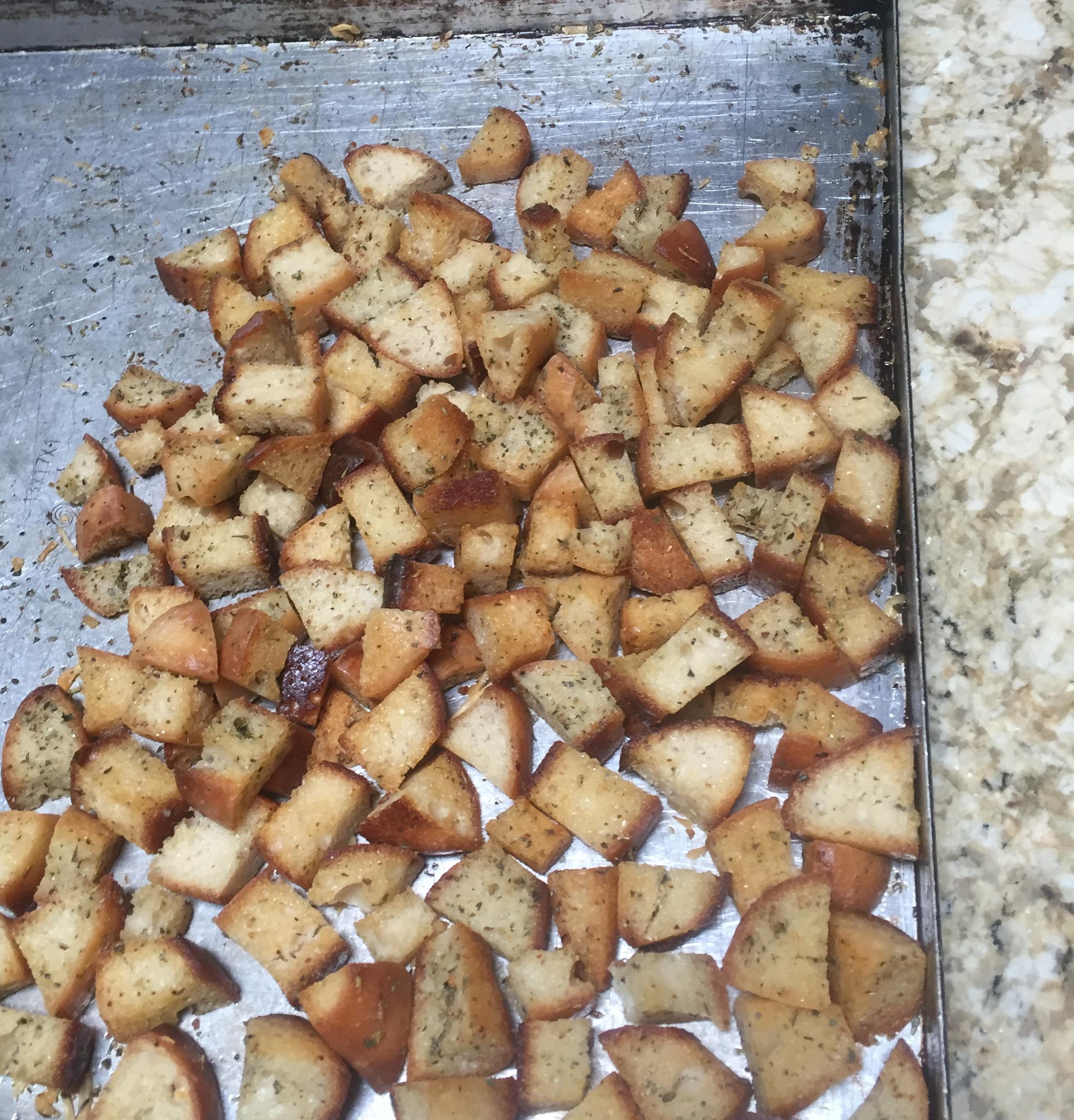 Sourdough Croutons Nancyjo