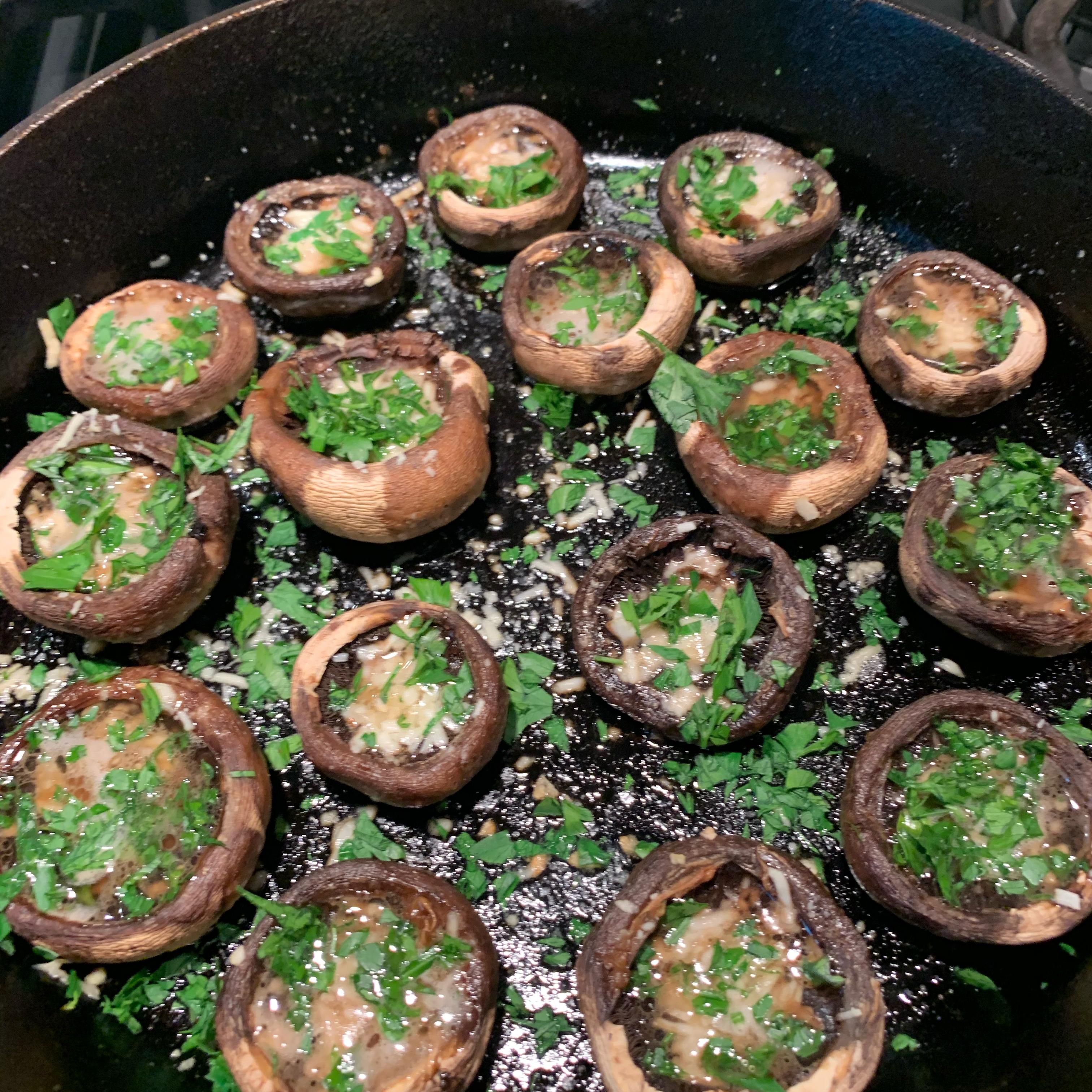 Garlic-Butter Roasted Mushrooms Linda Costello