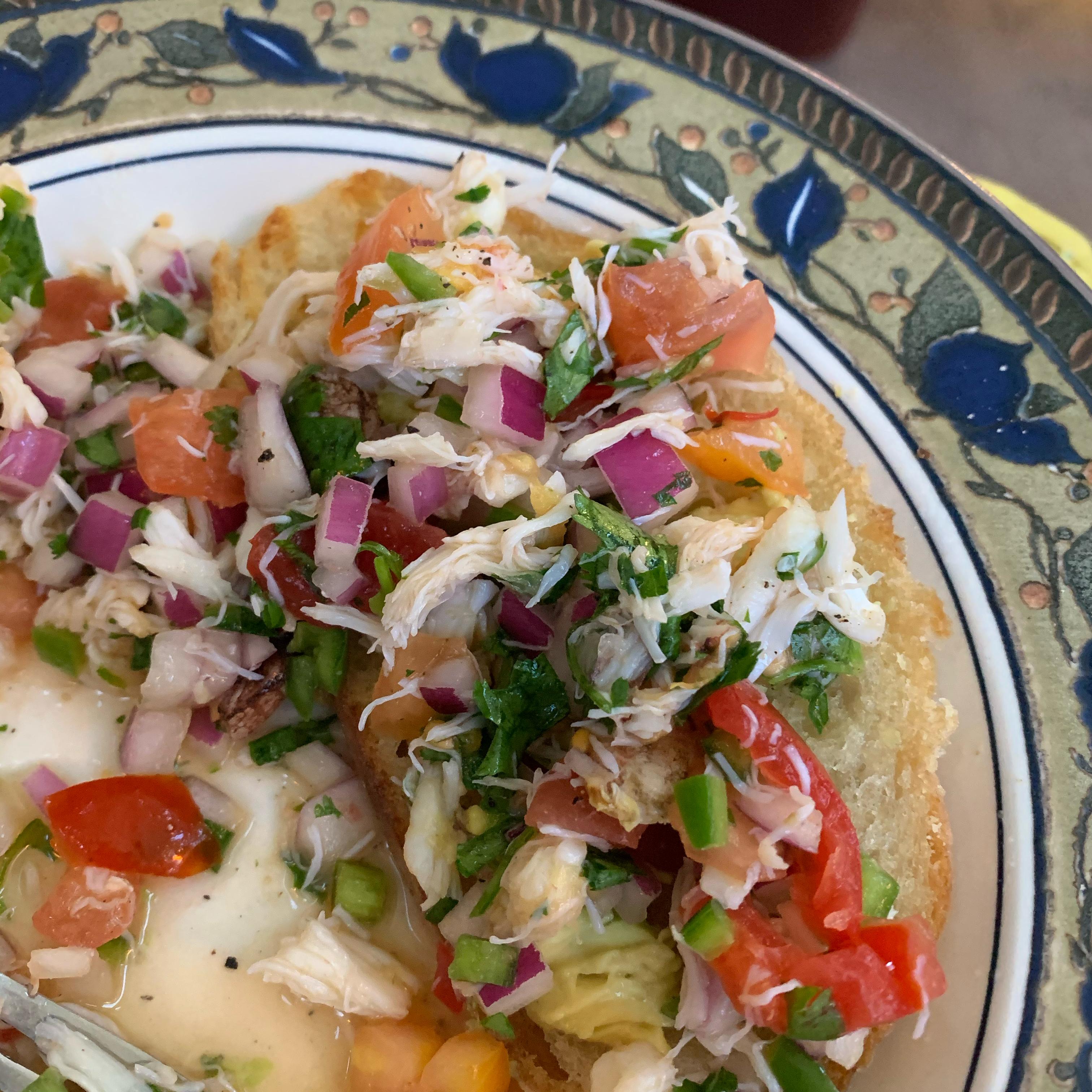 Crab Ceviche Gwendolyn Rector